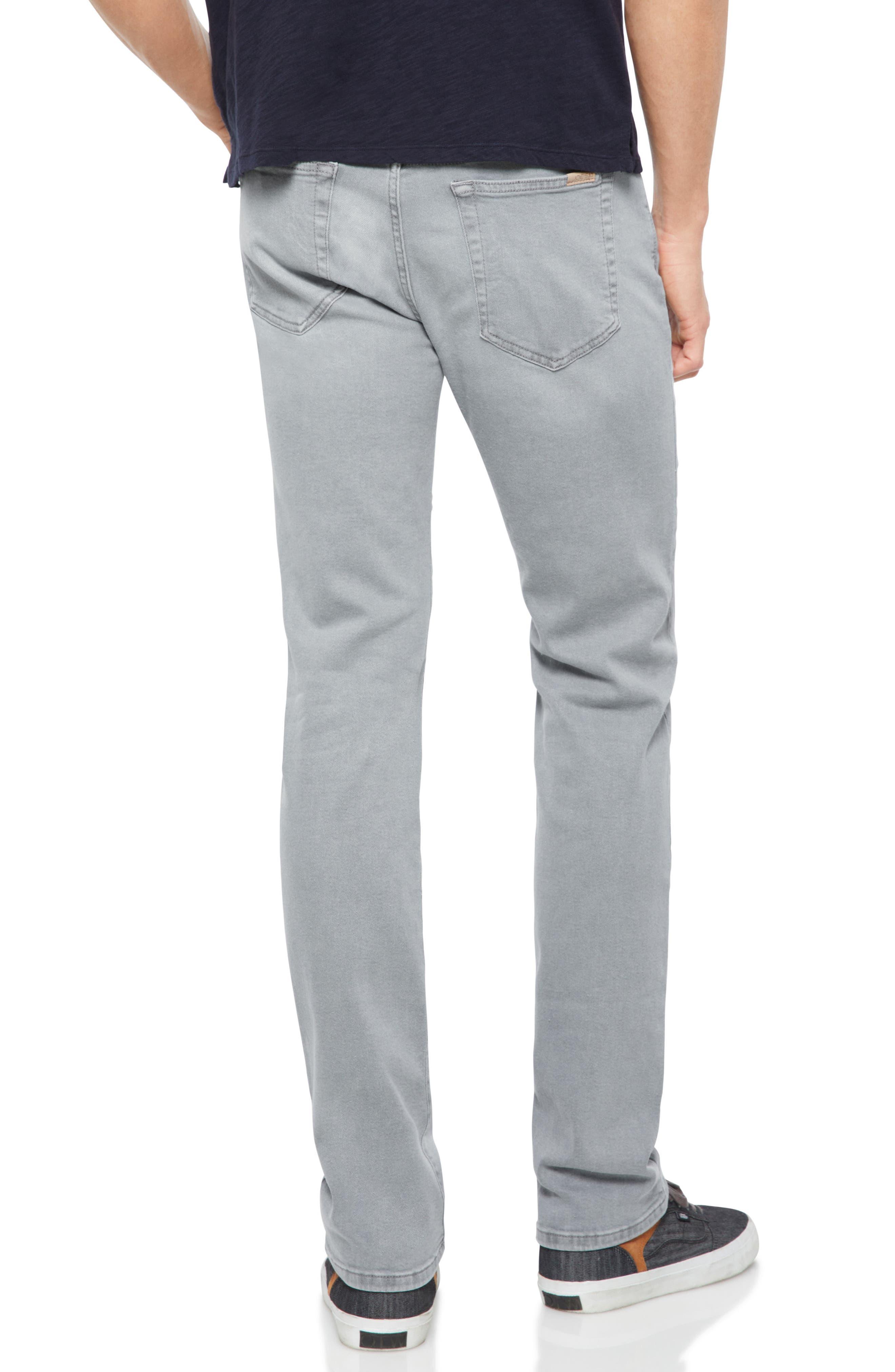 Brixton Slim Straight Leg Jeans,                             Alternate thumbnail 2, color,                             Feather