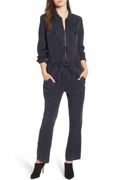 Apiece Apart Deia Cotton & Linen Crop Jumpsuit by Apiece Apart