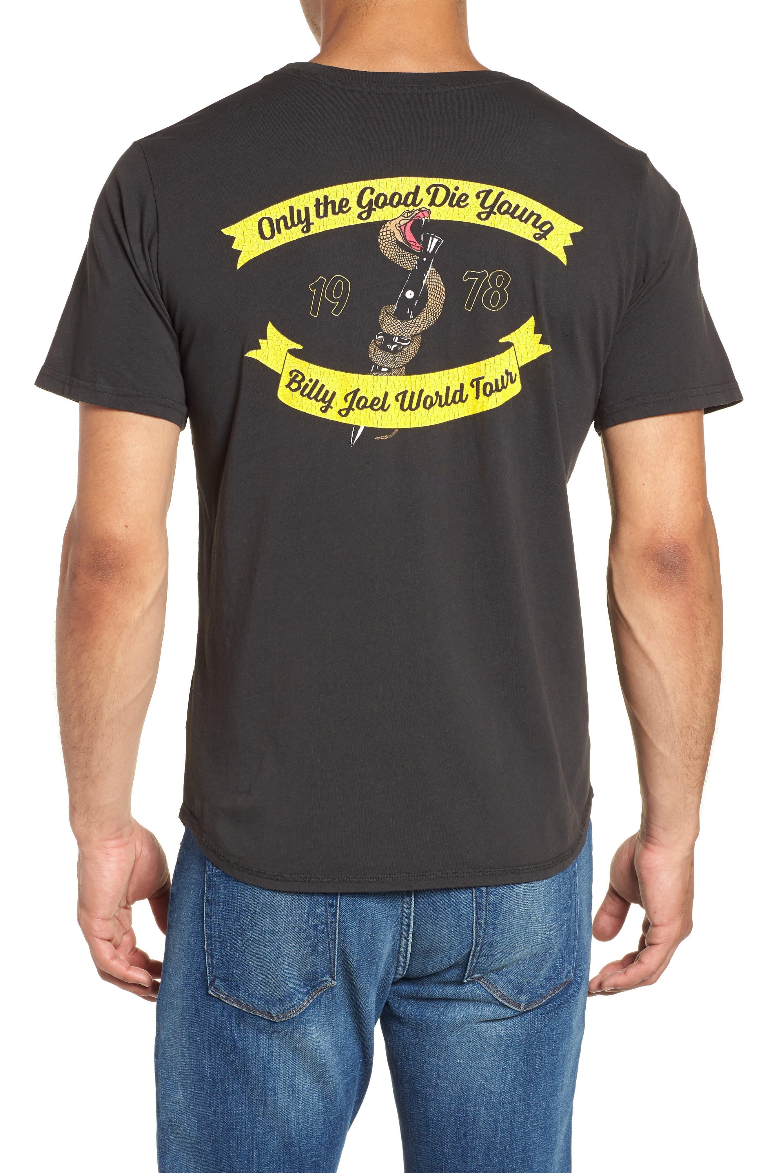 Only the Good Crewneck T-Shirt,                             Alternate thumbnail 2, color,                             Dusty Black