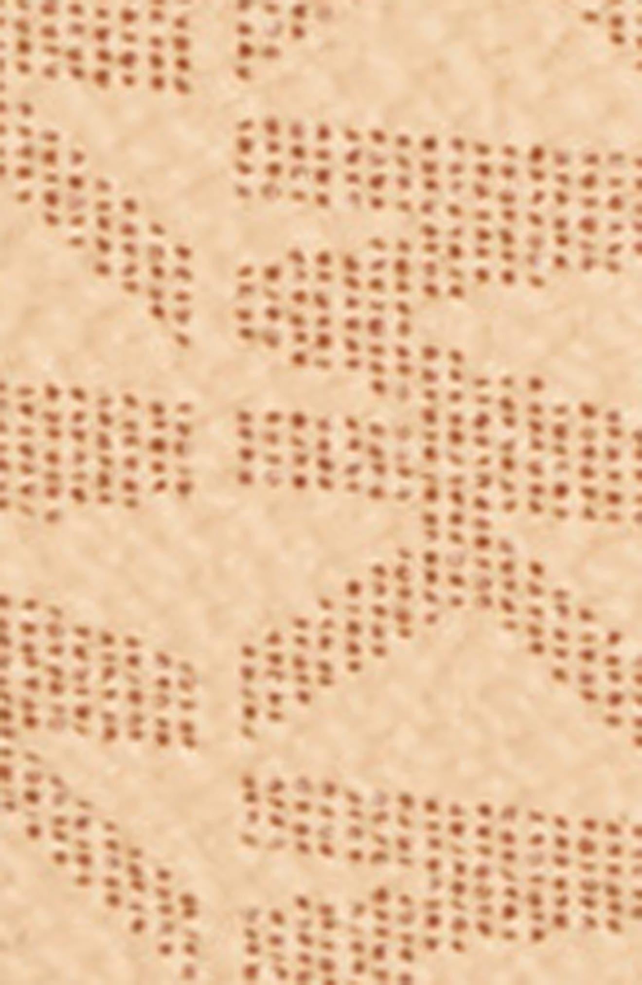 Skinny Logo Belt,                             Alternate thumbnail 3, color,                             Acorn