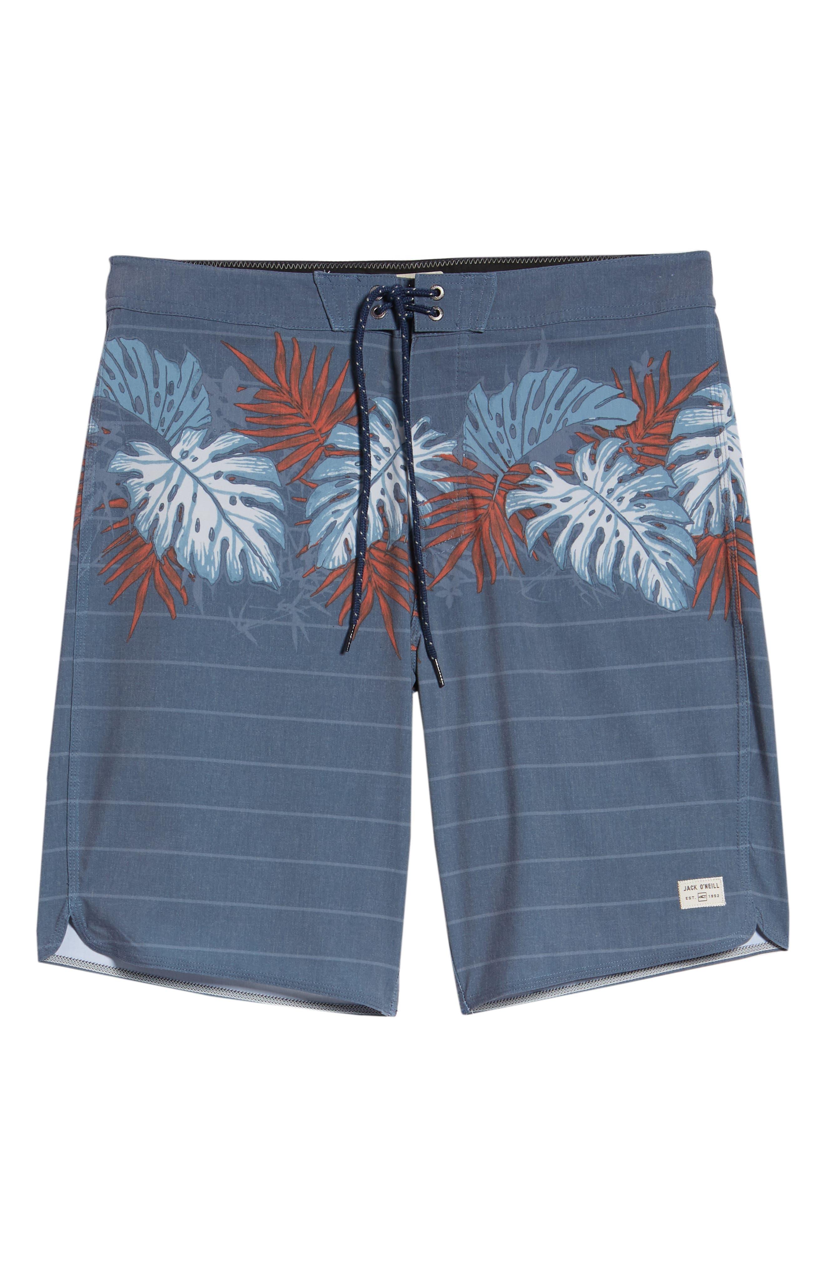 Waterfront Board Shorts,                             Alternate thumbnail 6, color,                             Navy 2