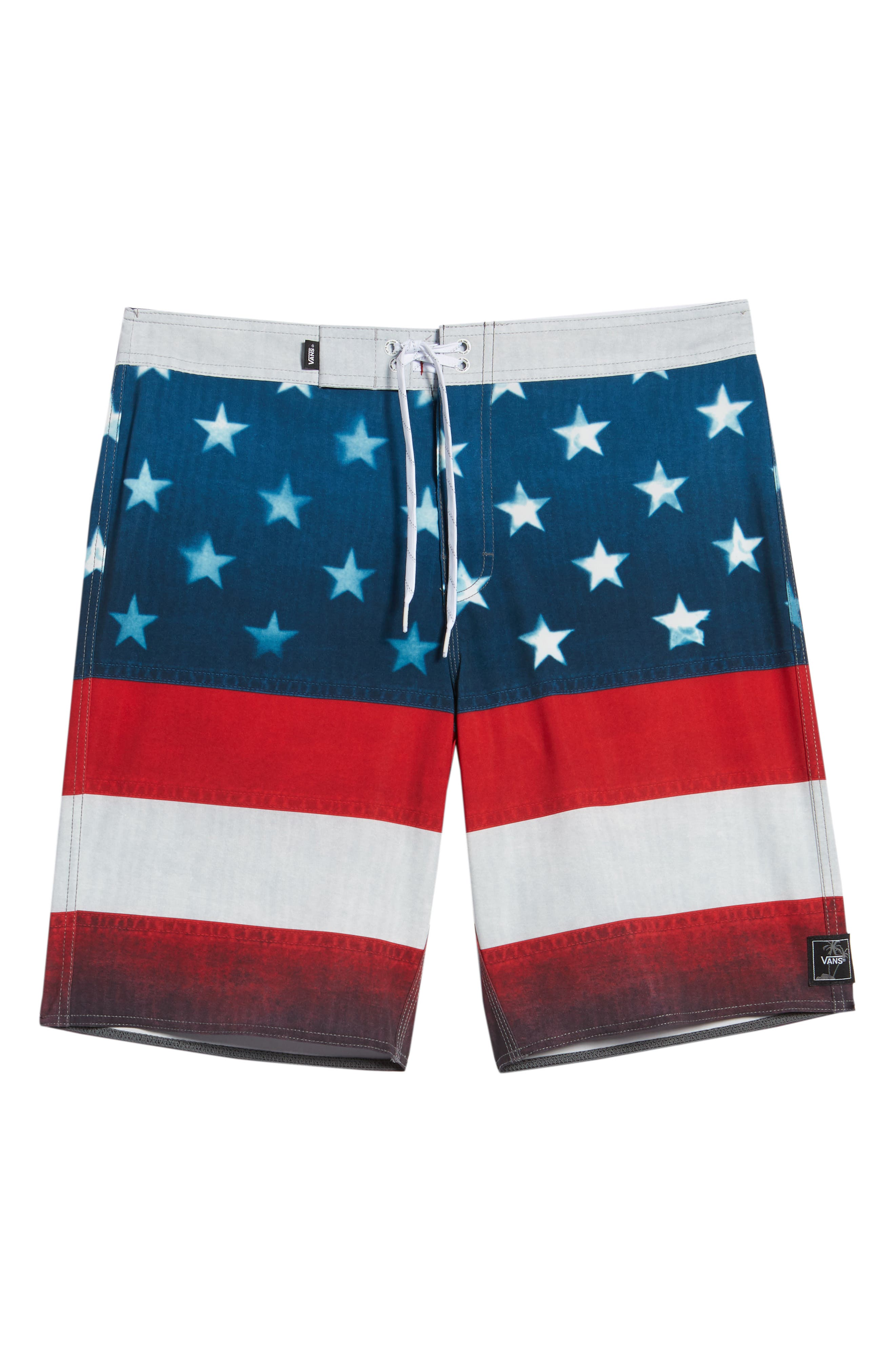 Era Board Shorts,                             Alternate thumbnail 6, color,                             American Flag