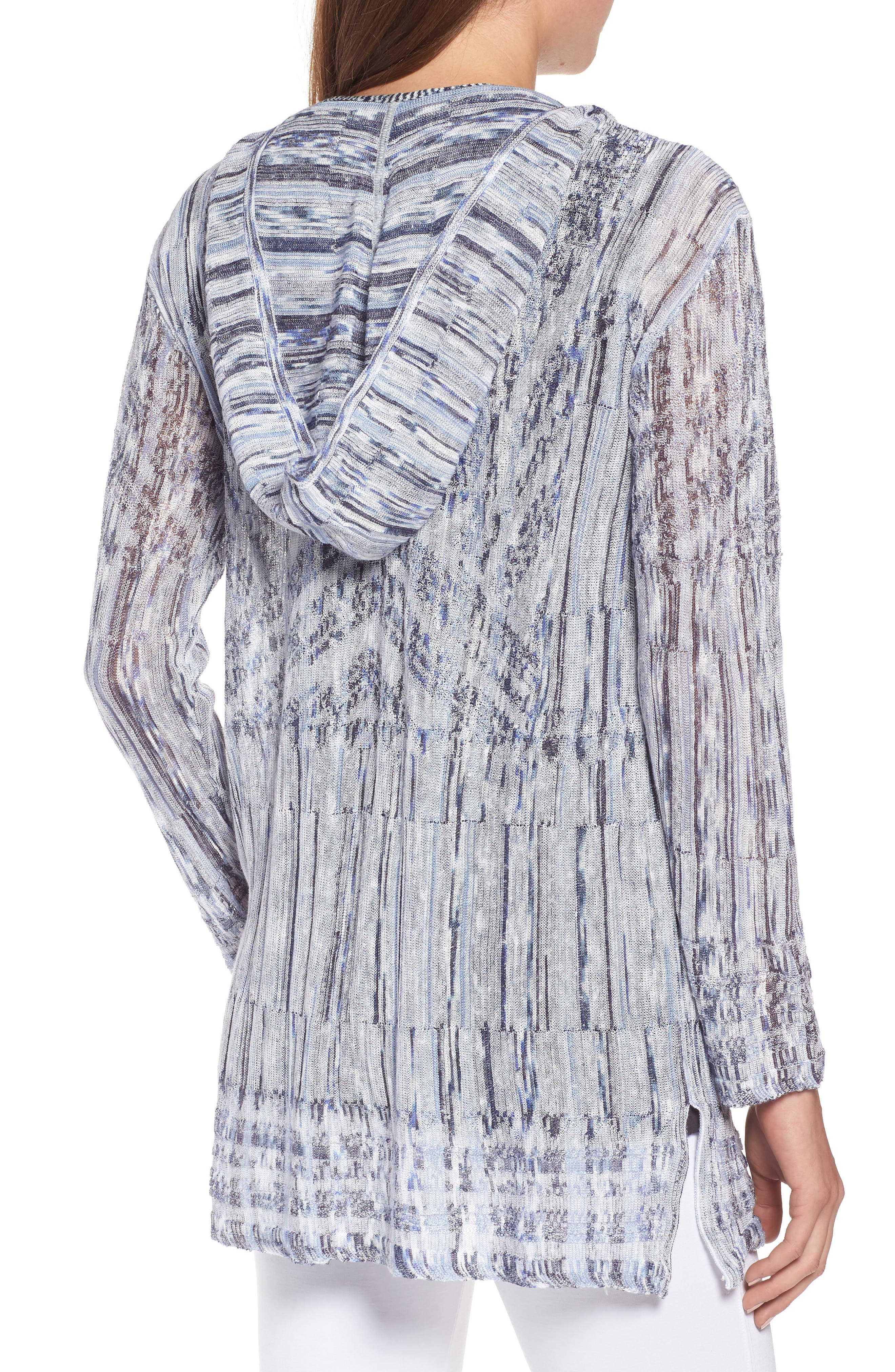 New Frontier Hooded Cardigan,                             Alternate thumbnail 2, color,                             Multi