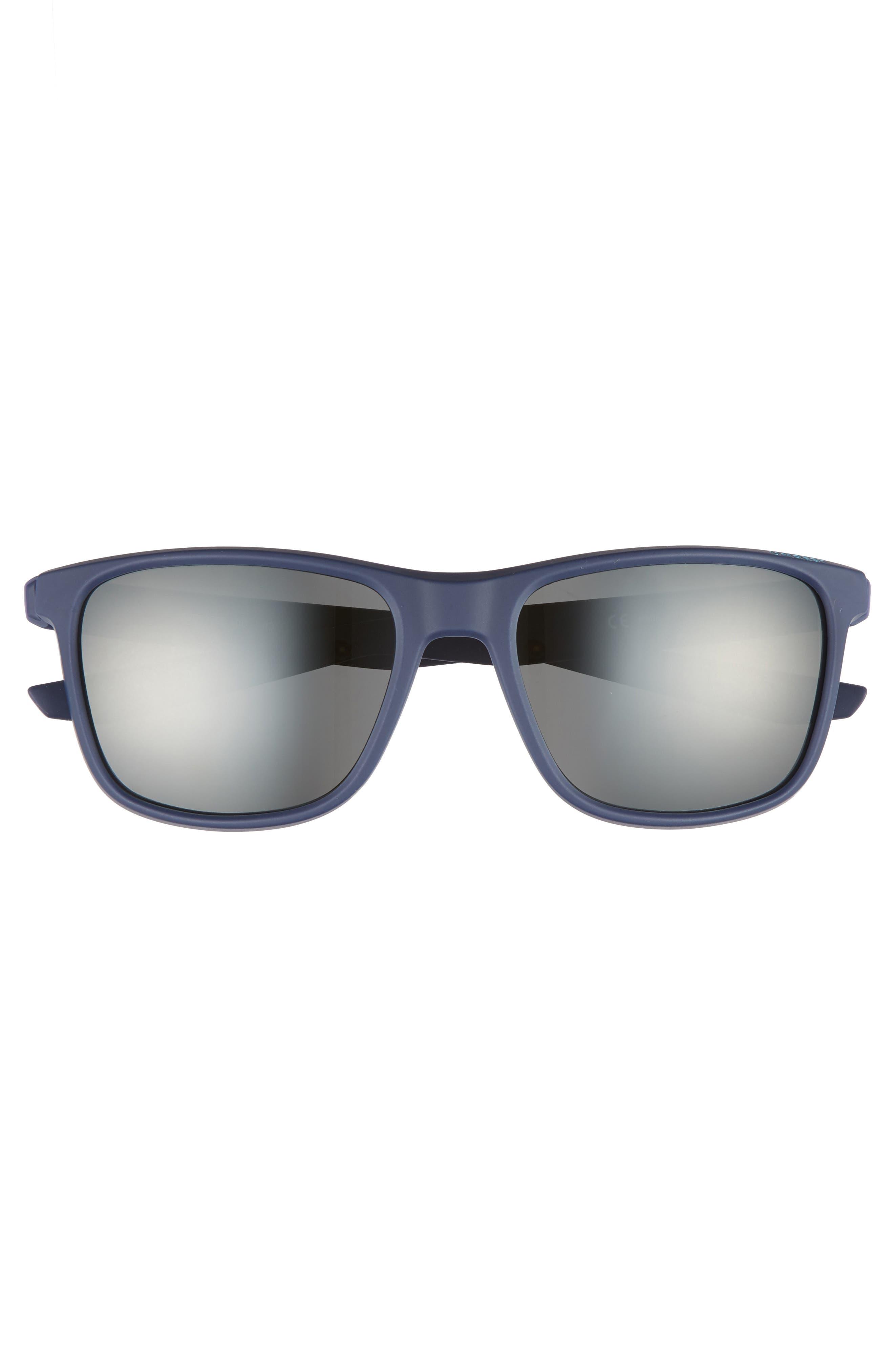 Unrest SE 57mm Sunglasses,                             Alternate thumbnail 2, color,                             Midnight Teal/ Dark Grey