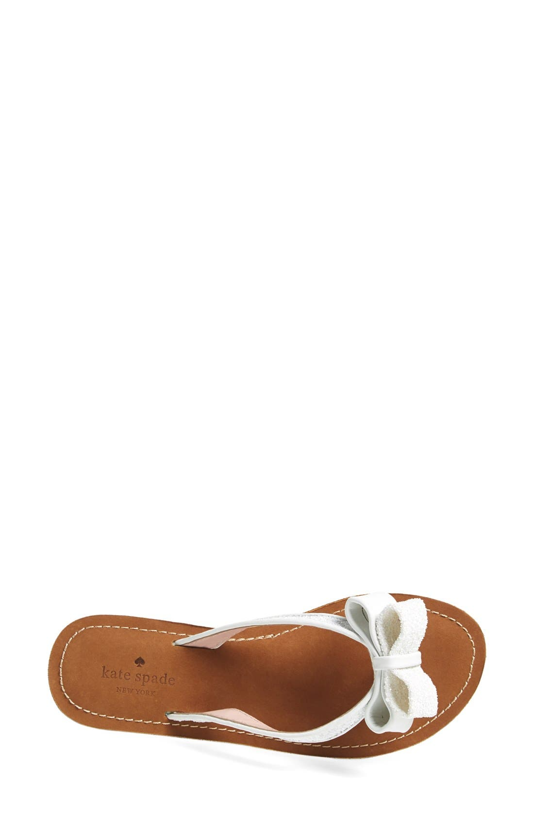 Alternate Image 3  - kate spade new york 'icarda' glitter flip flop (Women)