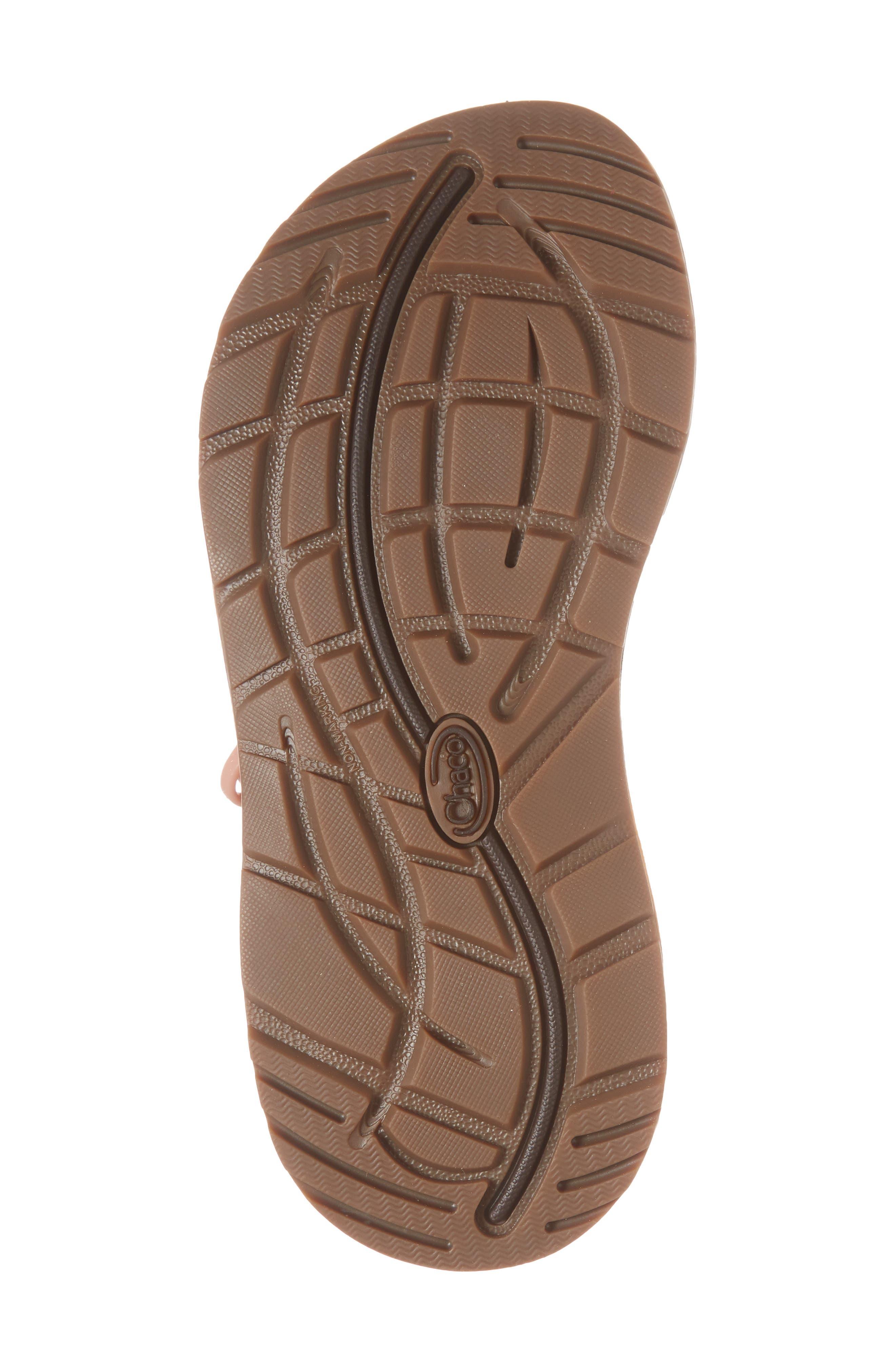 Z/Cloud Sandal,                             Alternate thumbnail 6, color,                             Metallic Rose Leather