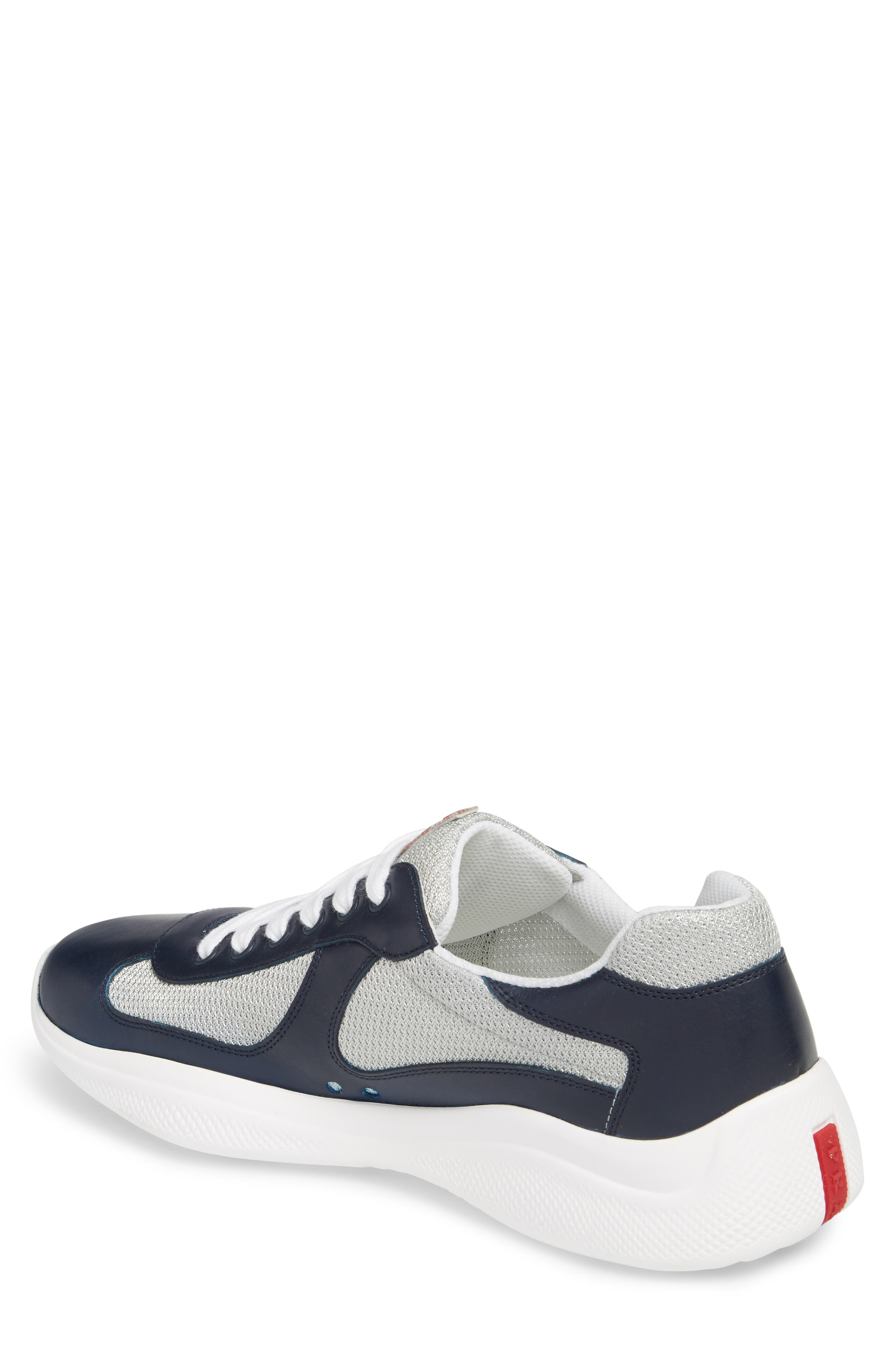 'Punta Ala' Sneaker,                             Alternate thumbnail 2, color,                             Baltic Blue/ Argento