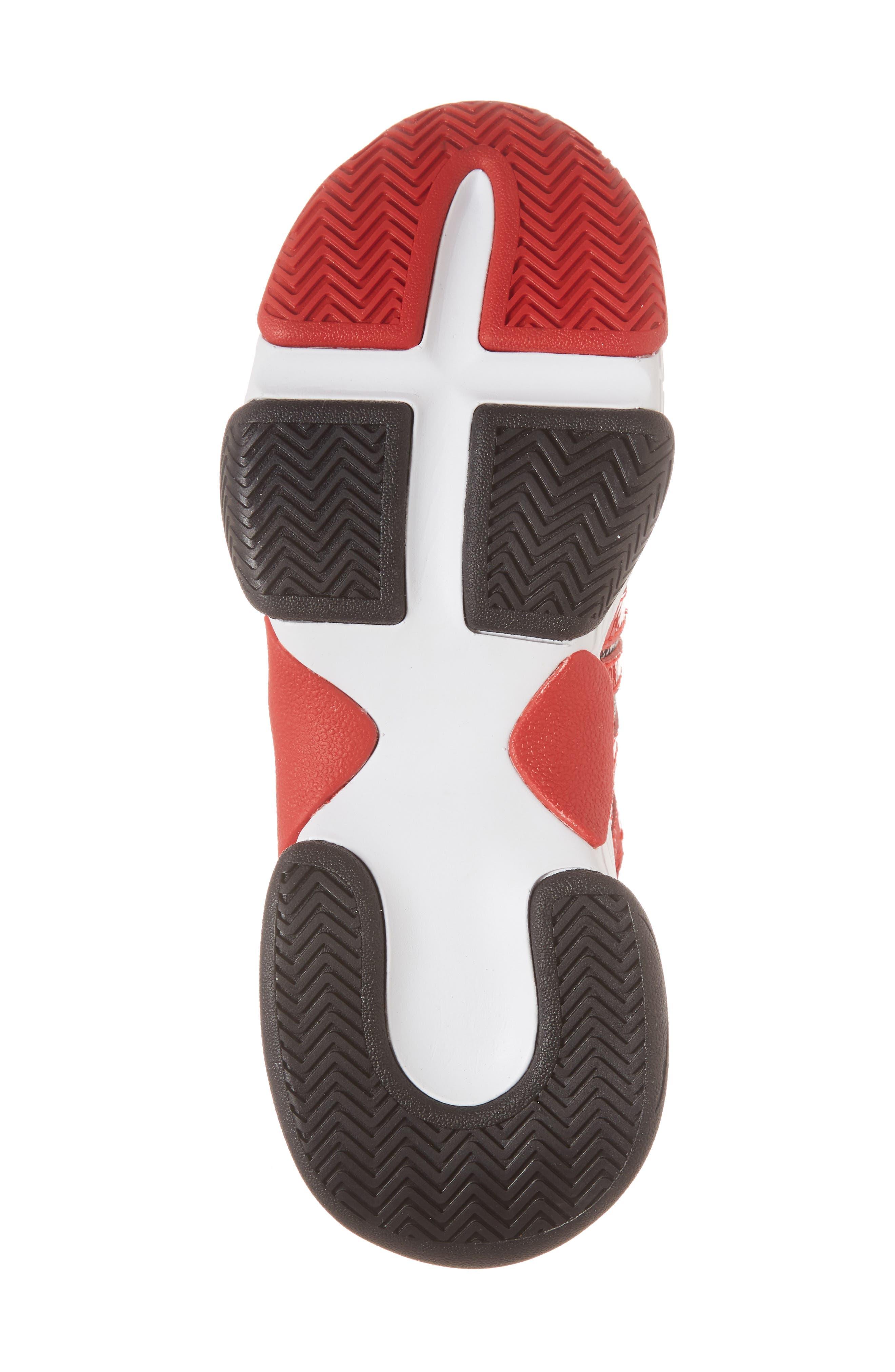 WiFi Sneaker,                             Alternate thumbnail 6, color,                             Red Pat Plaid Multi