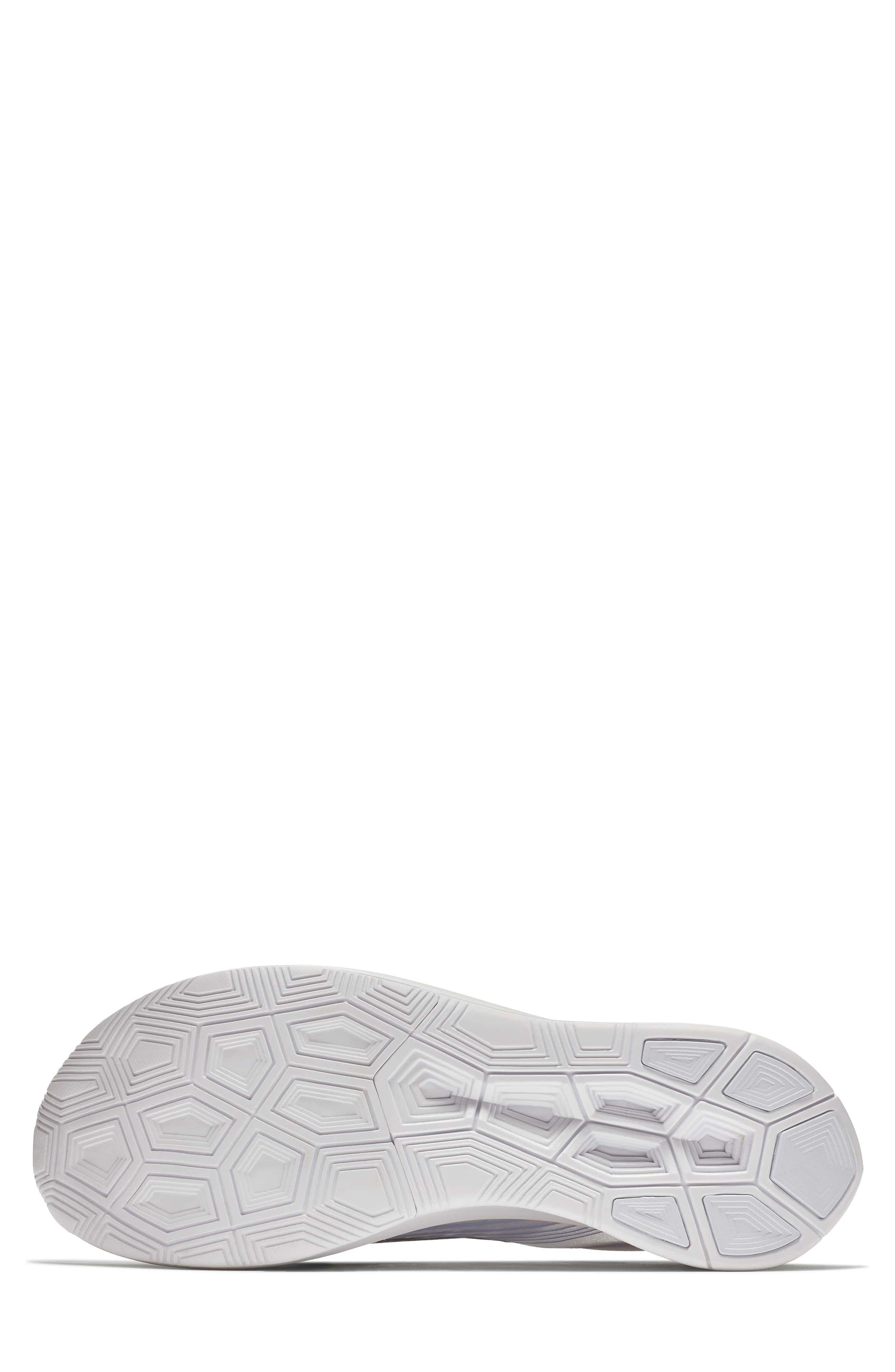Nordstrom x Nike Zoom Fly BETRUE Running Shoe,                             Alternate thumbnail 6, color,                             White/ Black/ Palest Purple
