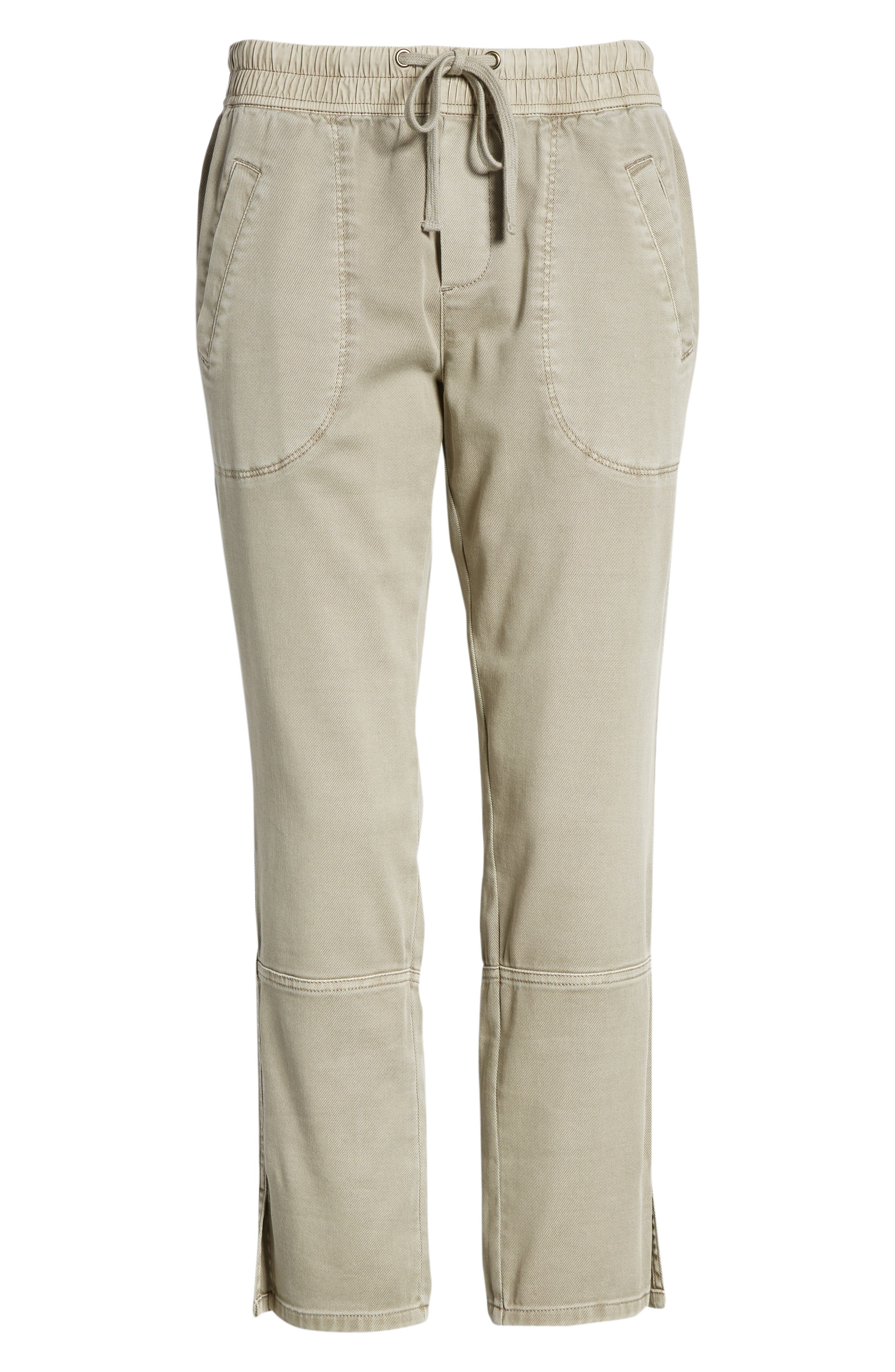 Open Road Ankle Pants,                             Alternate thumbnail 7, color,                             Flax
