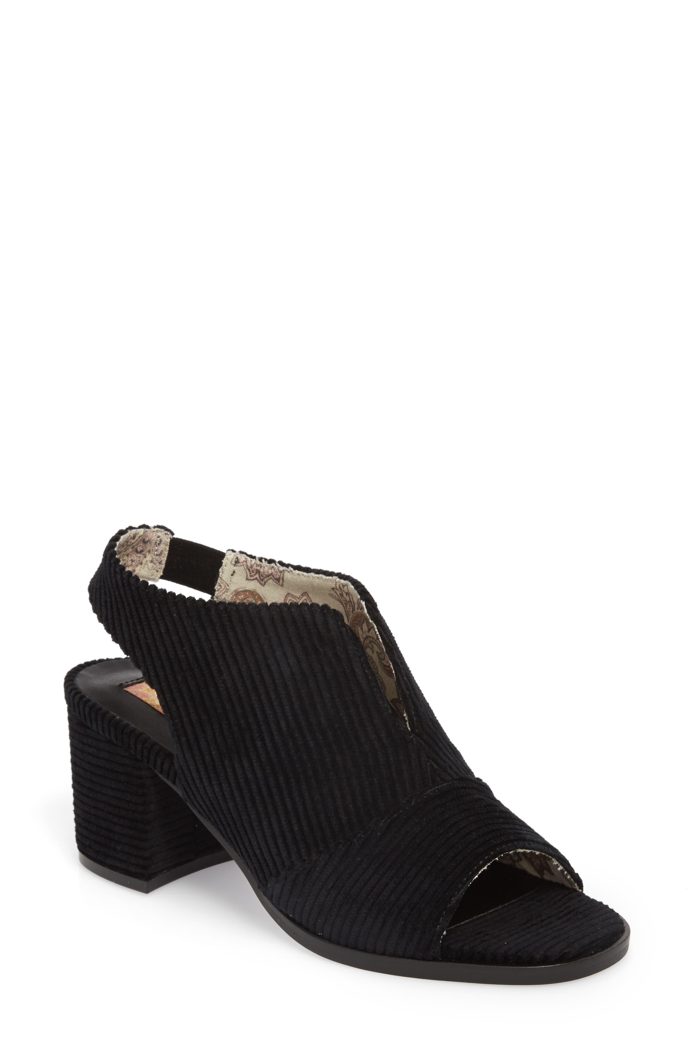 Jordan Sandal,                         Main,                         color, Corduroy Black