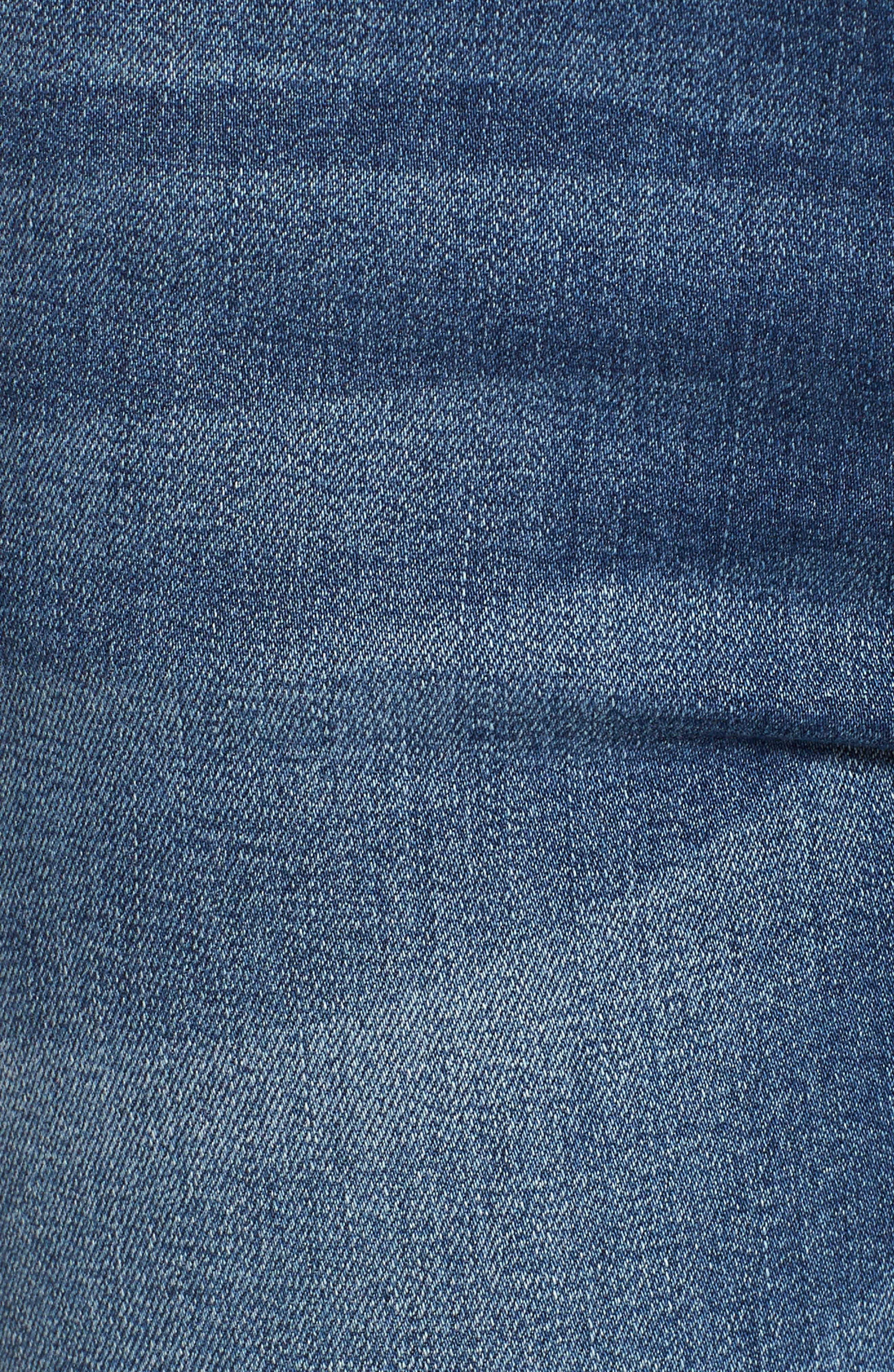 Release Hem Skinny Jeans,                             Alternate thumbnail 3, color,                             Pretty