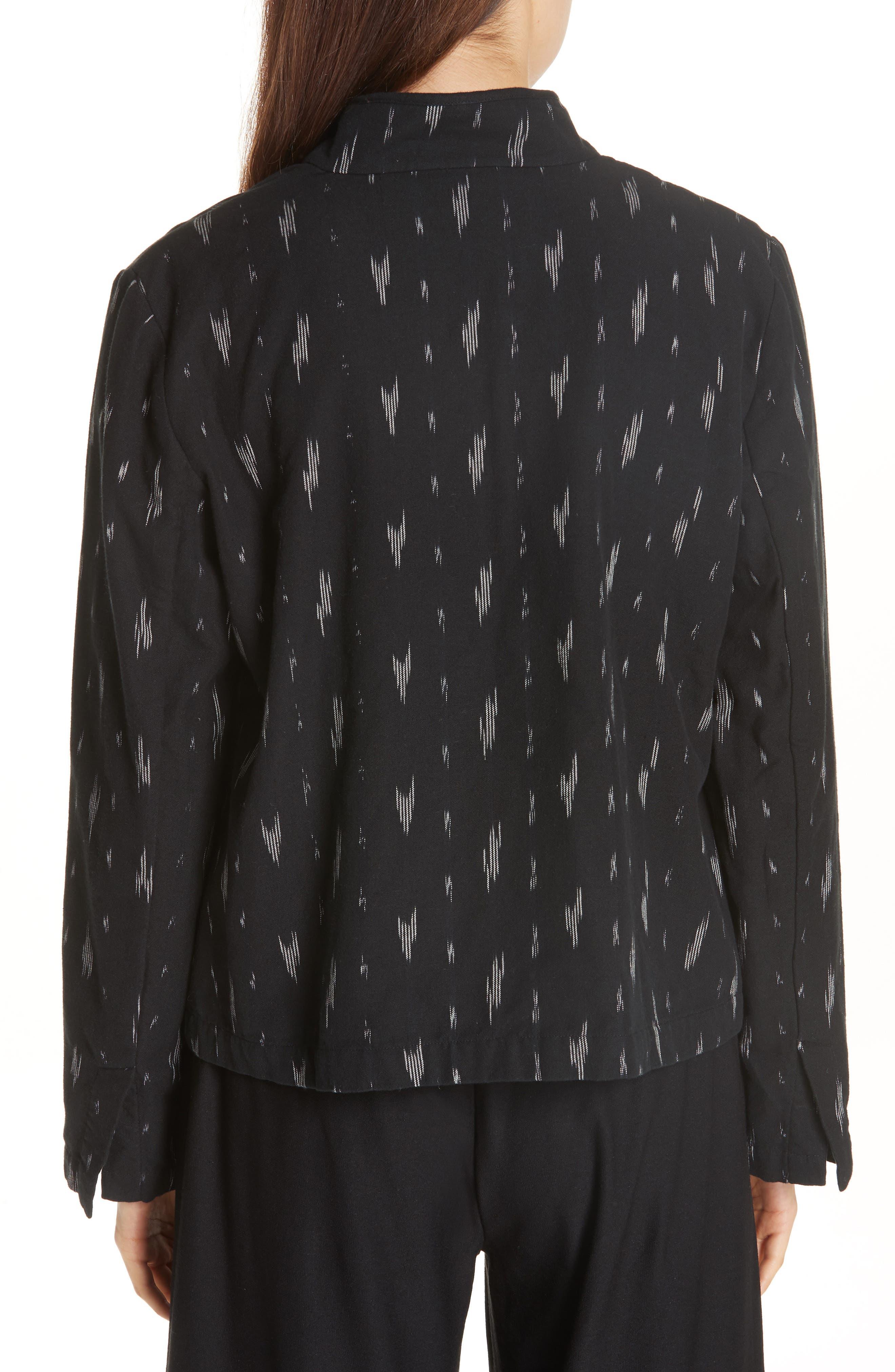 Organic Cotton Jacket,                             Alternate thumbnail 2, color,                             Black