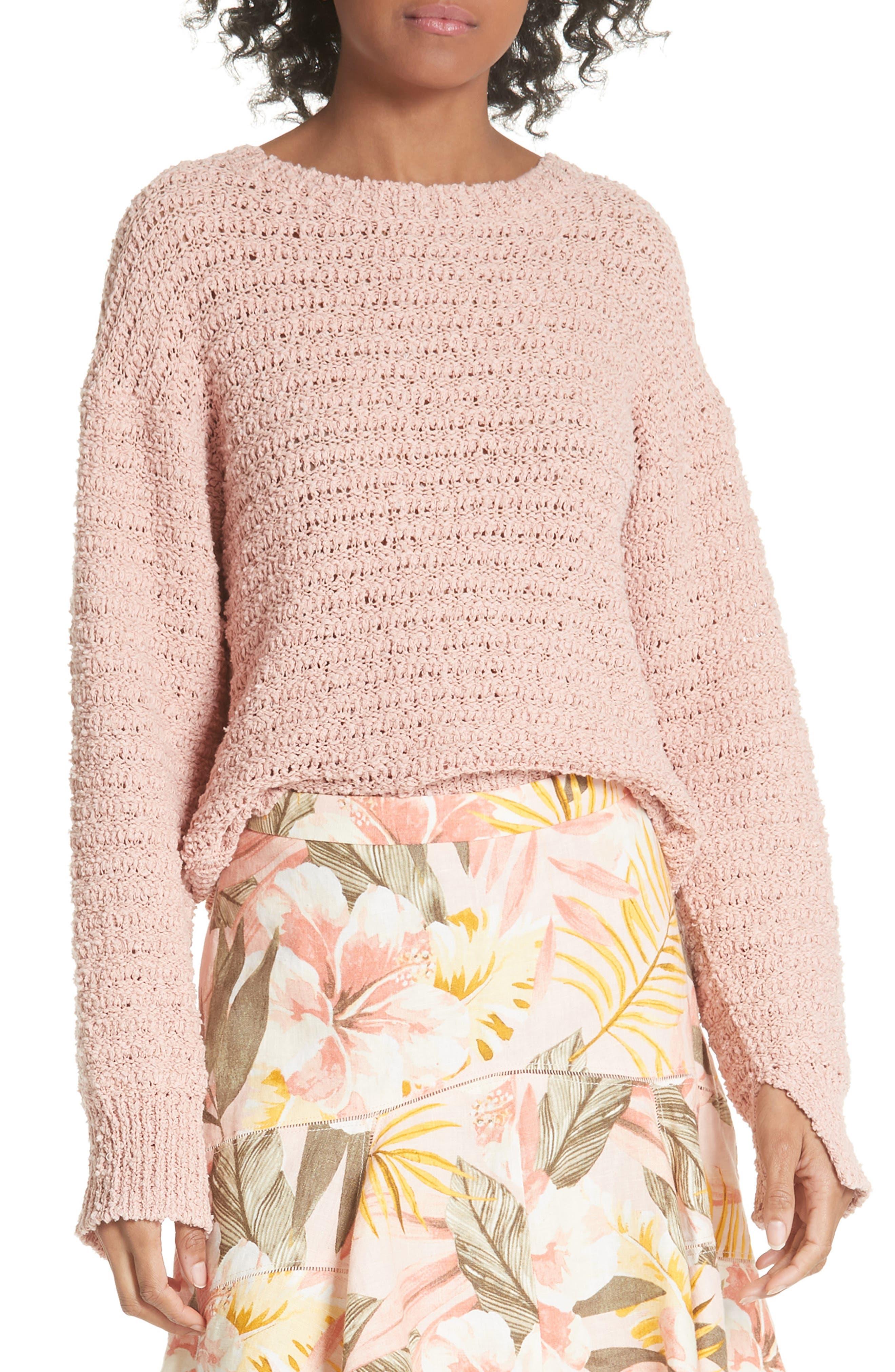 Jayne Silk Knit Sweater by Joie