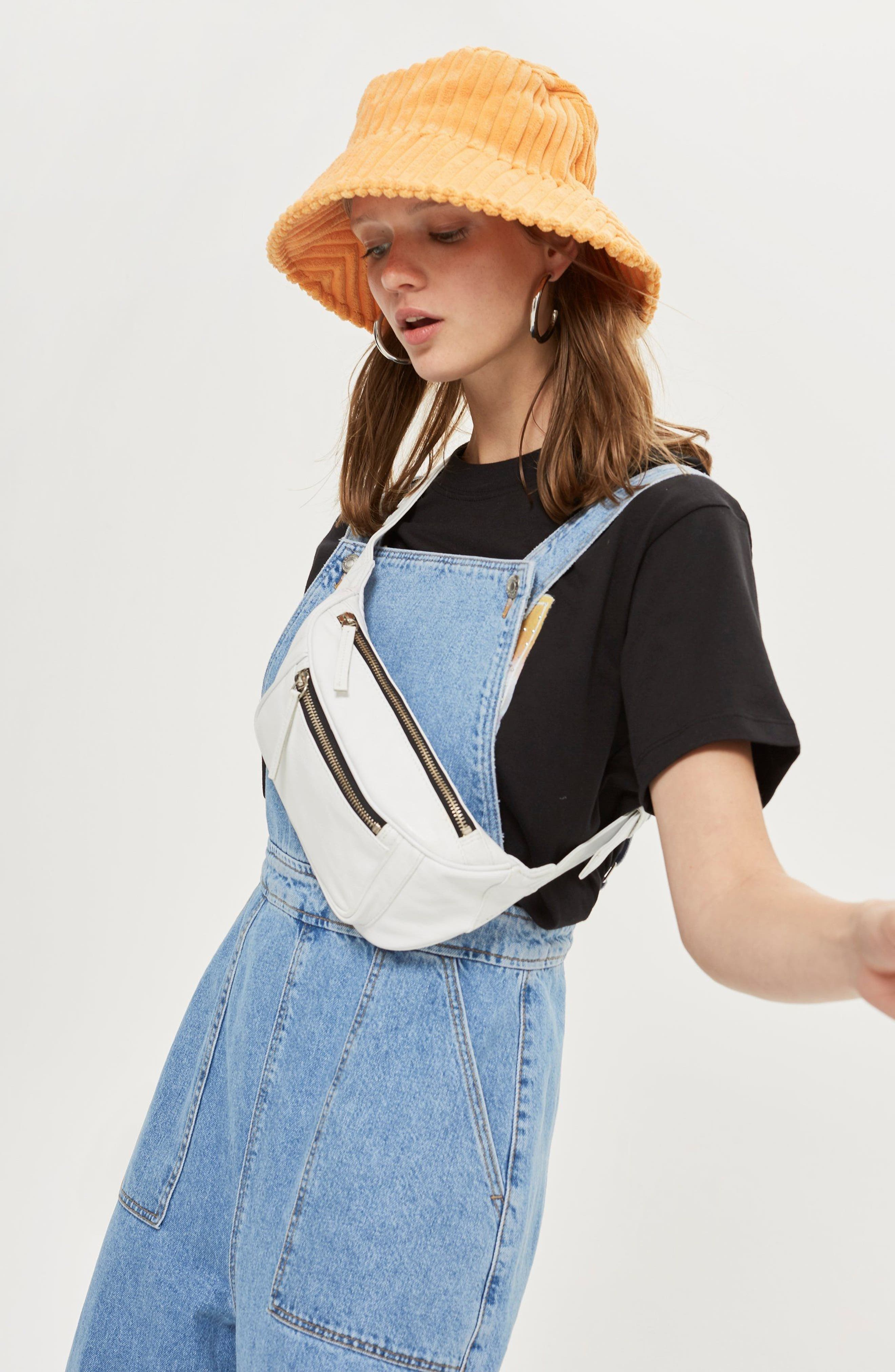 Topship Wide Leg Crop Overalls,                             Alternate thumbnail 2, color,                             Mid Stone