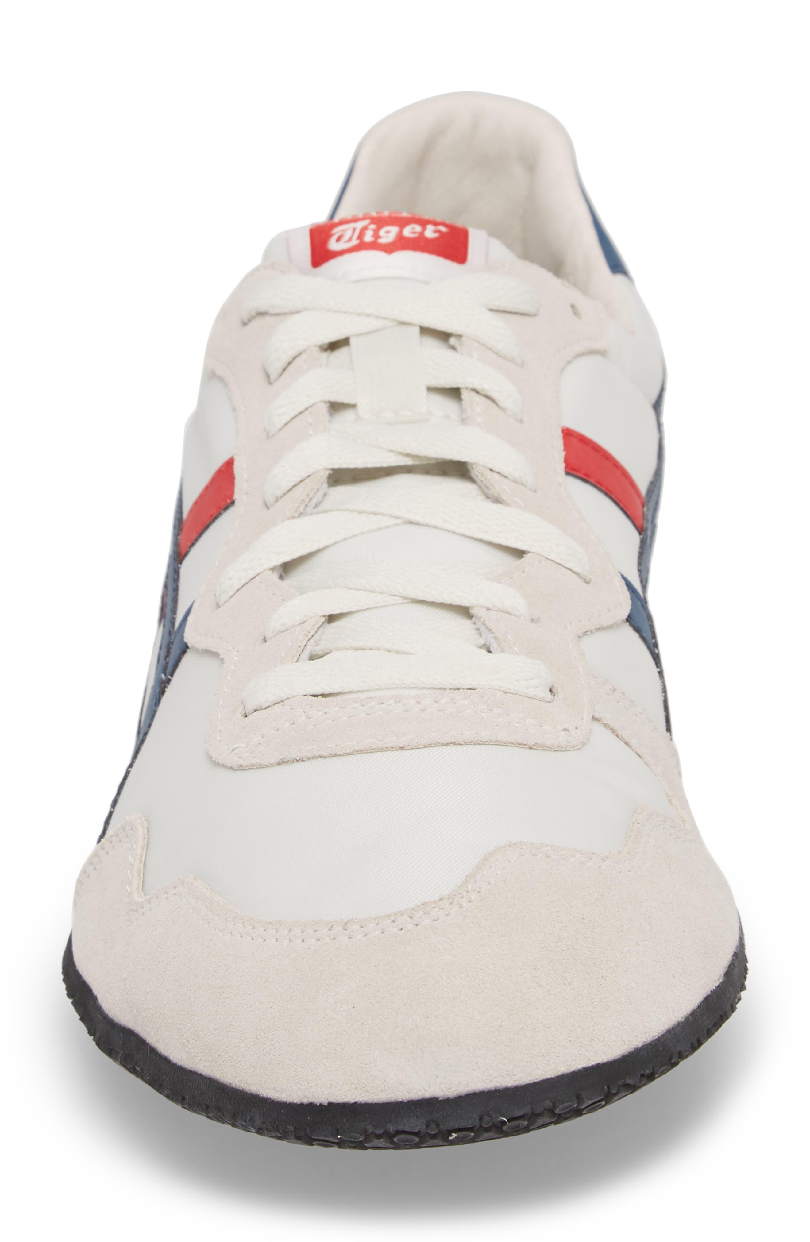 'Serrano' Sneaker,                             Alternate thumbnail 4, color,                             White/ Mallard Blue