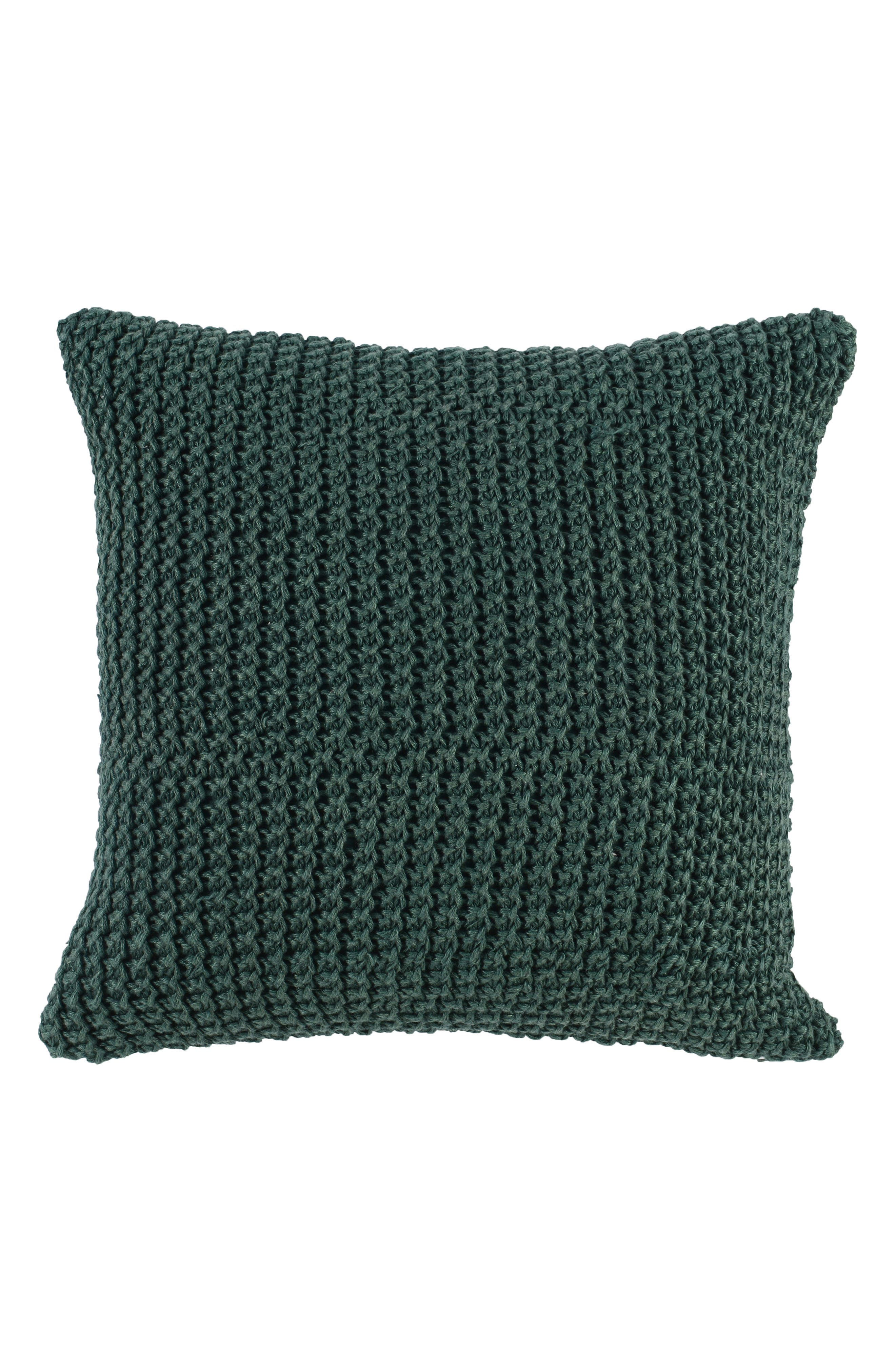 Nita Accent Pillow,                             Main thumbnail 1, color,                             Emerald Green