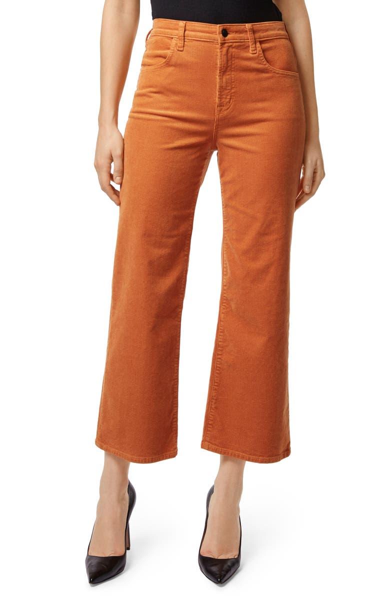Joan High Waist Corduroy Crop Flare Jeans