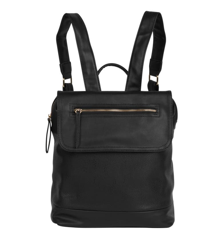 Urban Originals LOVESOME VEGAN LEATHER BACKPACK - BLACK
