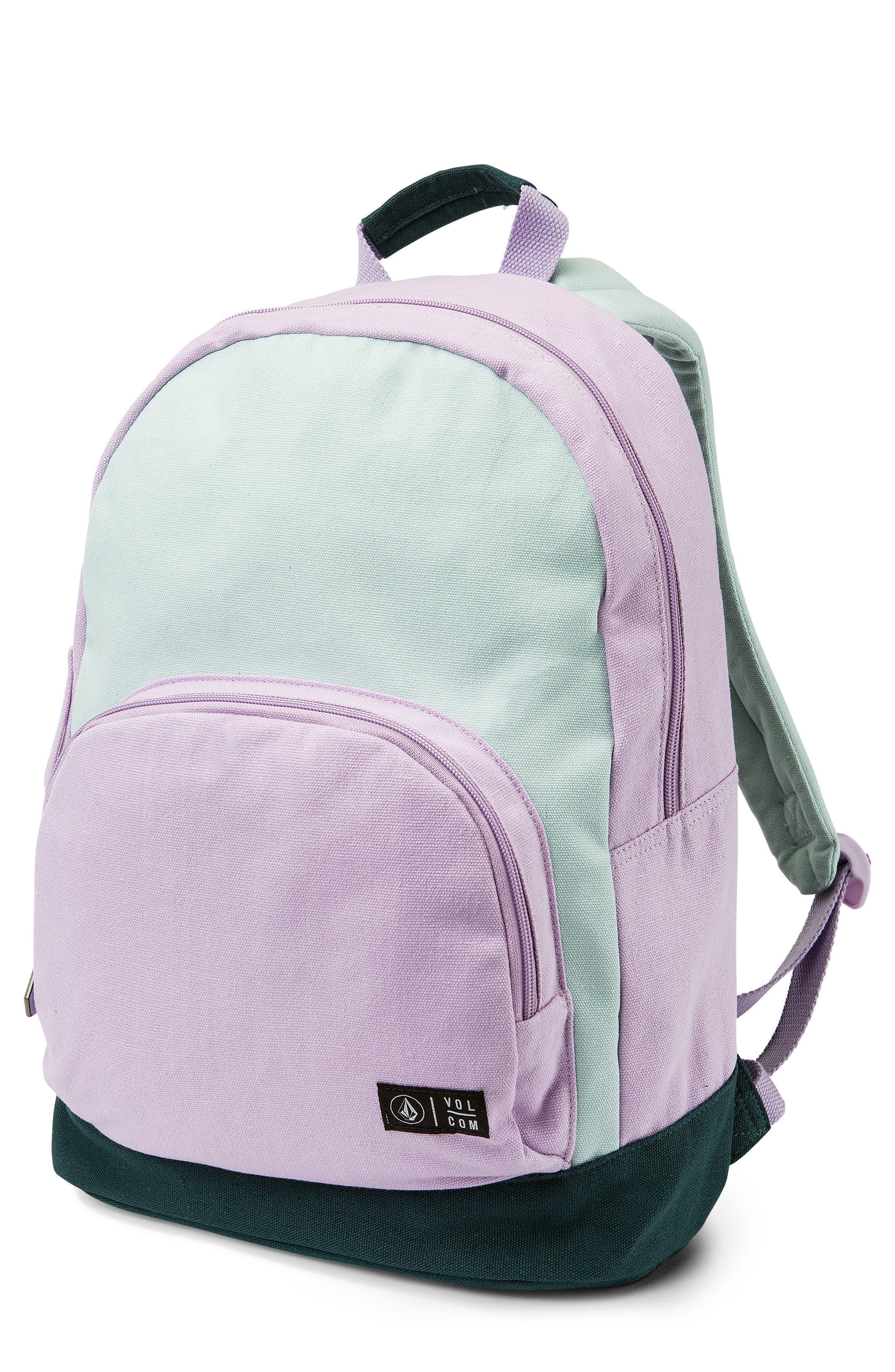 Schoolyard Canvas Backpack,                         Main,                         color, Light Blue
