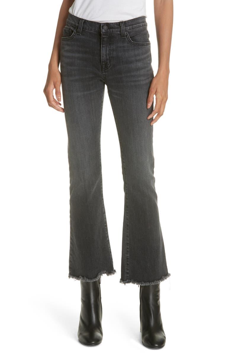 Vianca Crop Flare Jeans