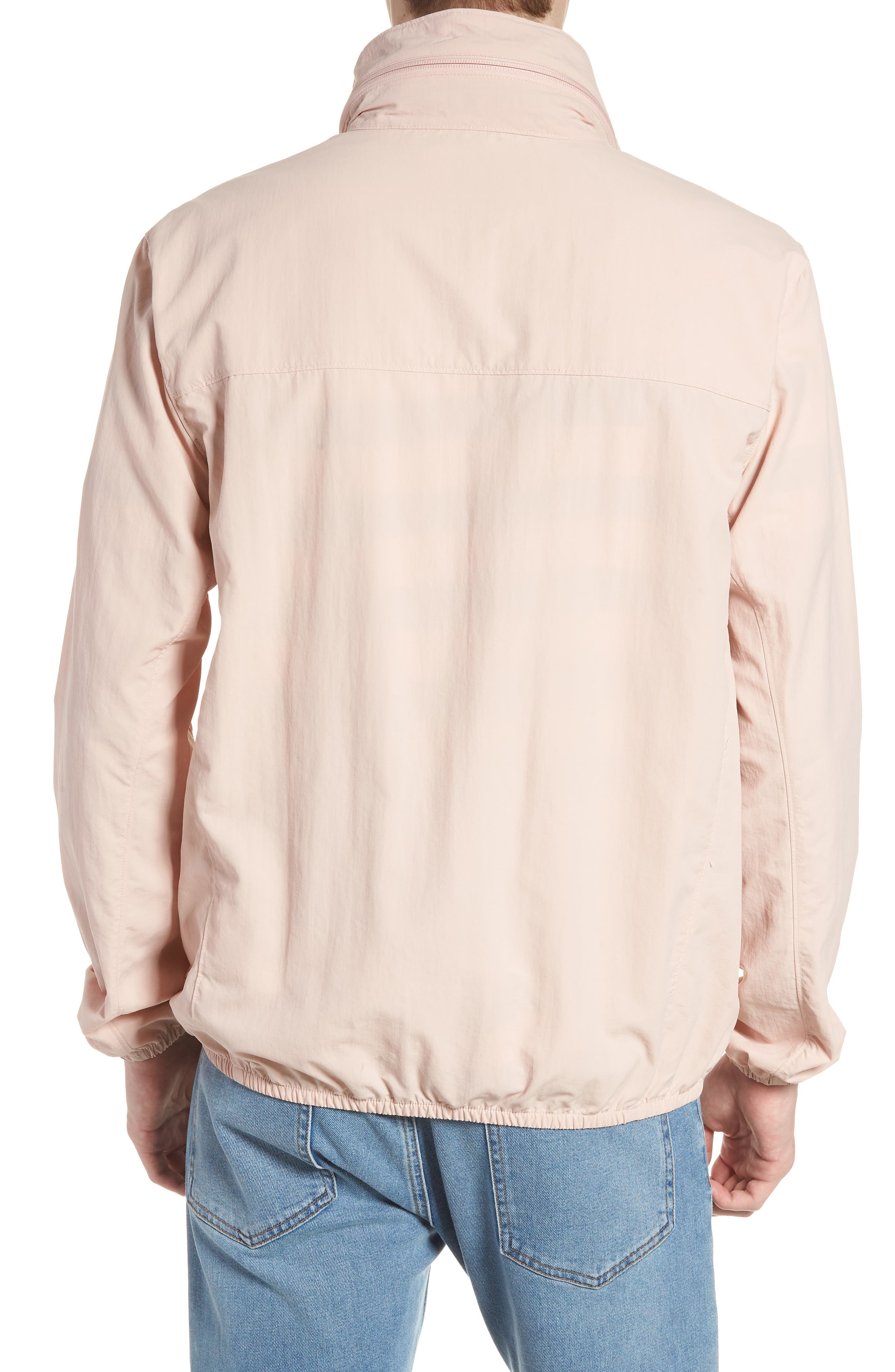 Wrinkled Stowaway Jacket,                             Alternate thumbnail 2, color,                             Ash Rose