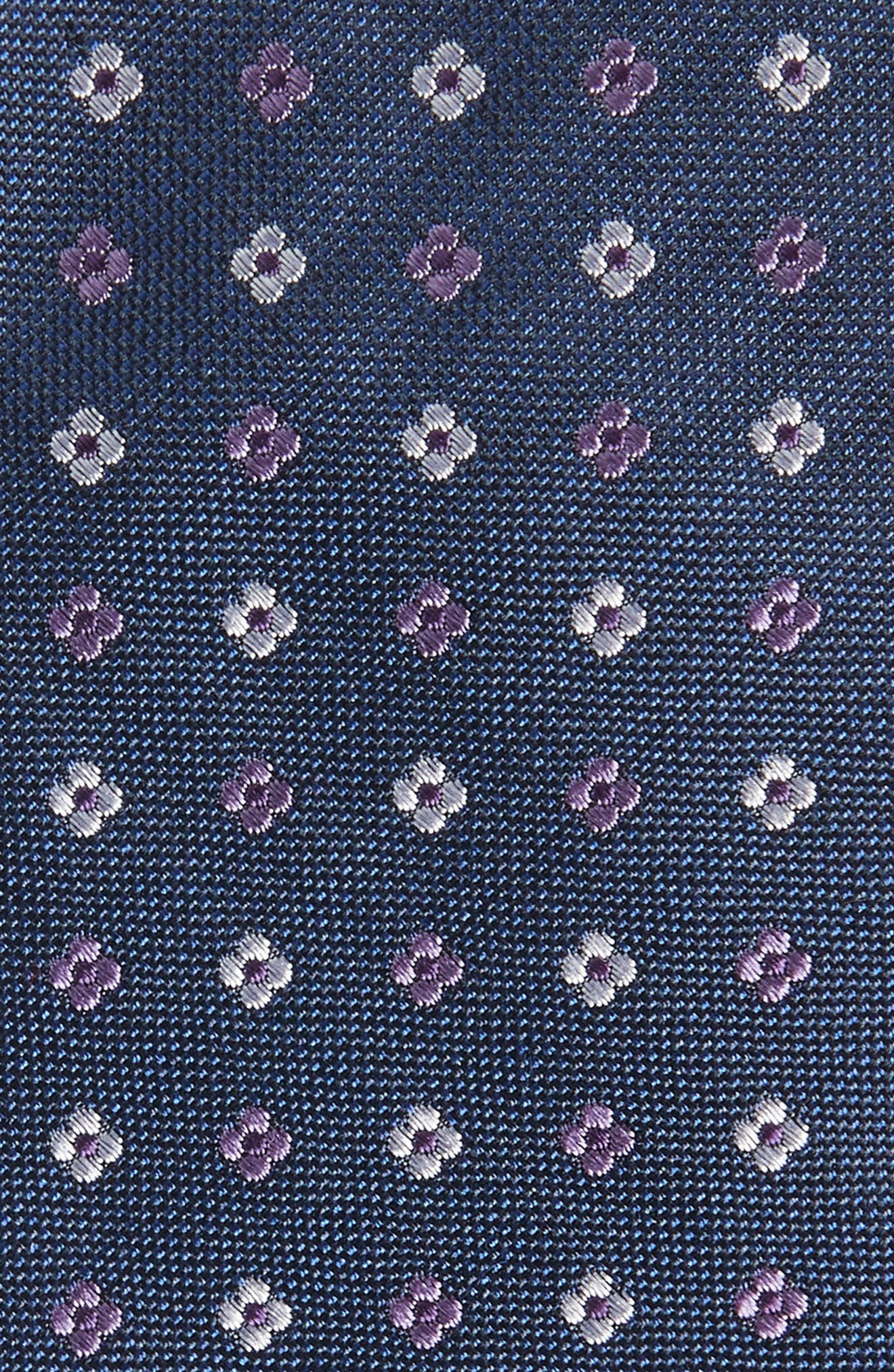 Rubio Silk Tie,                             Alternate thumbnail 2, color,                             Purple