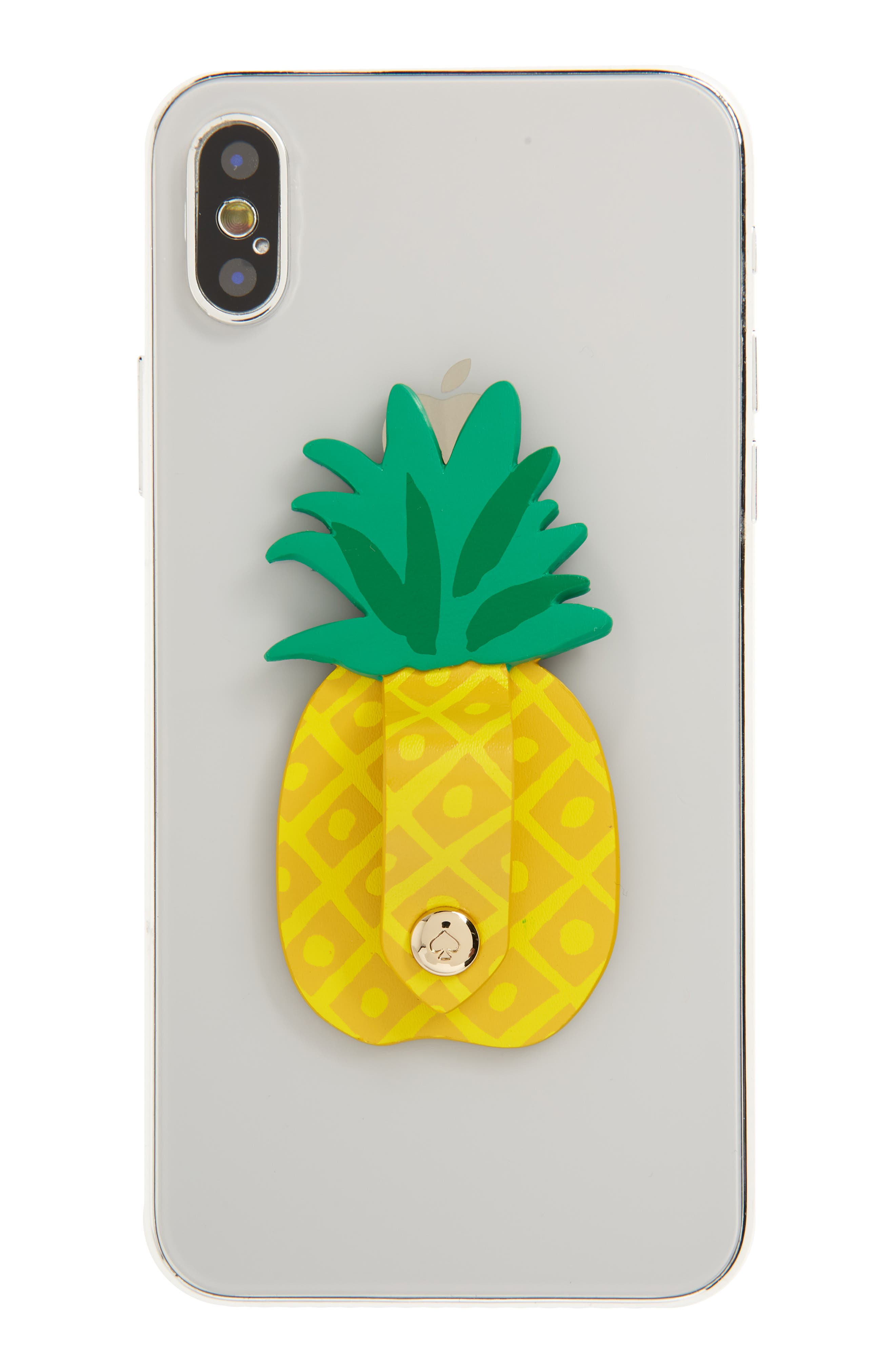pineapple cord keeper phone sticker,                             Main thumbnail 1, color,                             Yellow