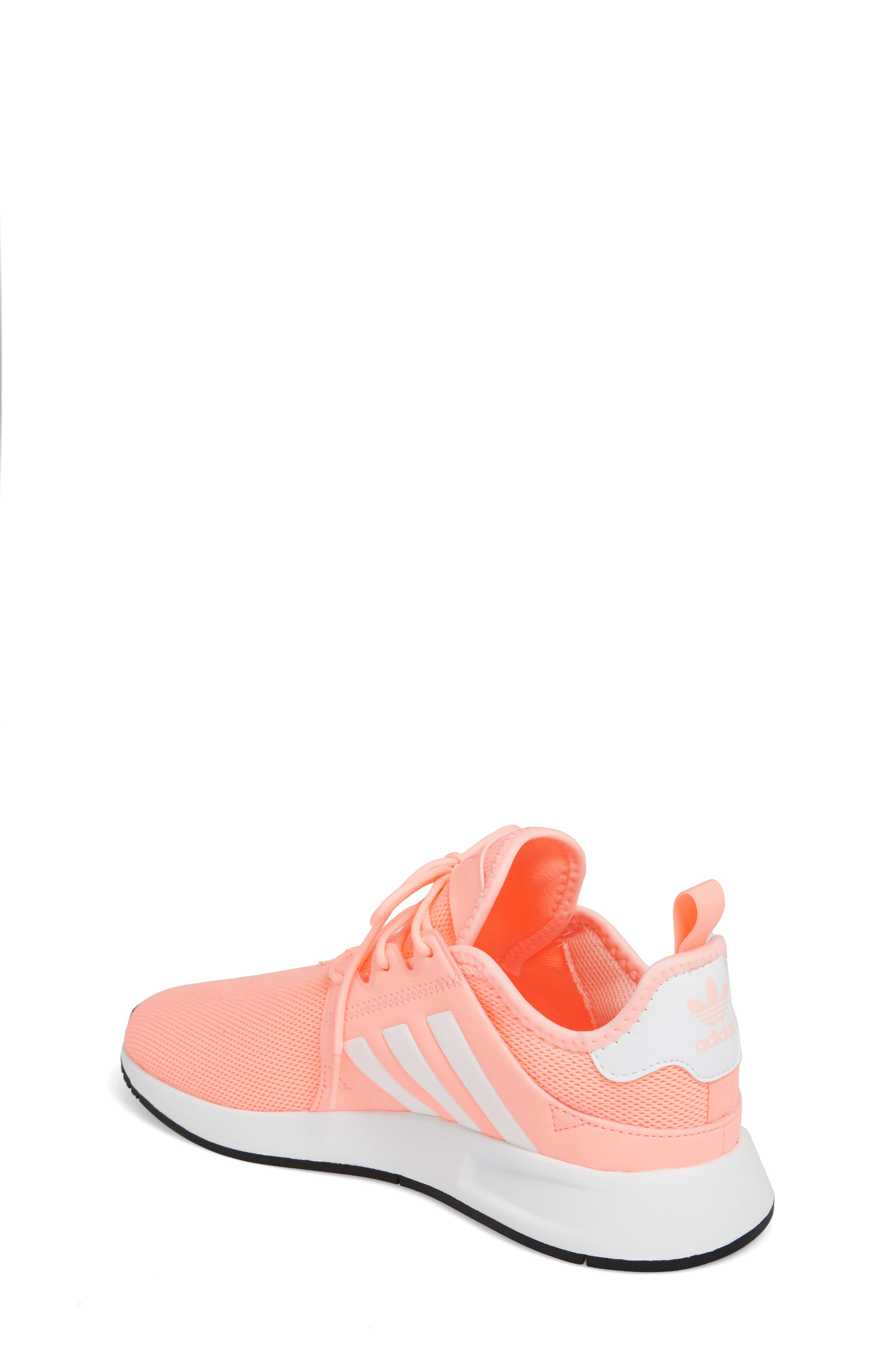 X_PLR Sneaker,                             Alternate thumbnail 2, color,                             Clear Orange/ White