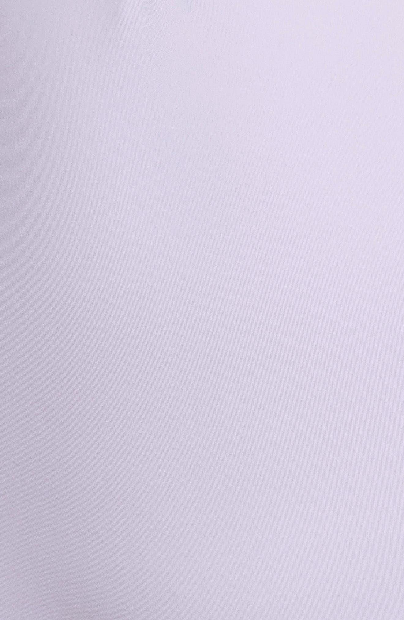NRG Women's Dri-FIT Long Sleeve Bodysuit,                             Alternate thumbnail 6, color,                             Barely Grape/ Barely Grape