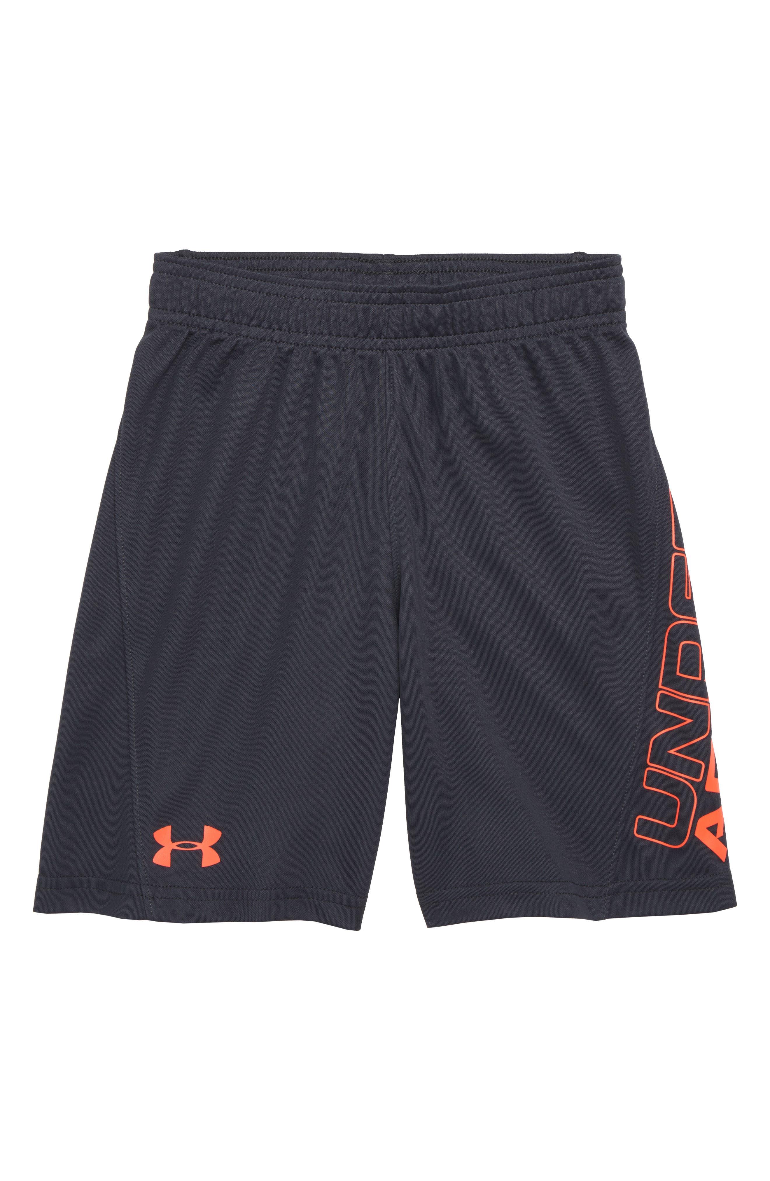 Kick Off HeatGear<sup>®</sup> Shorts,                         Main,                         color, Anthracite