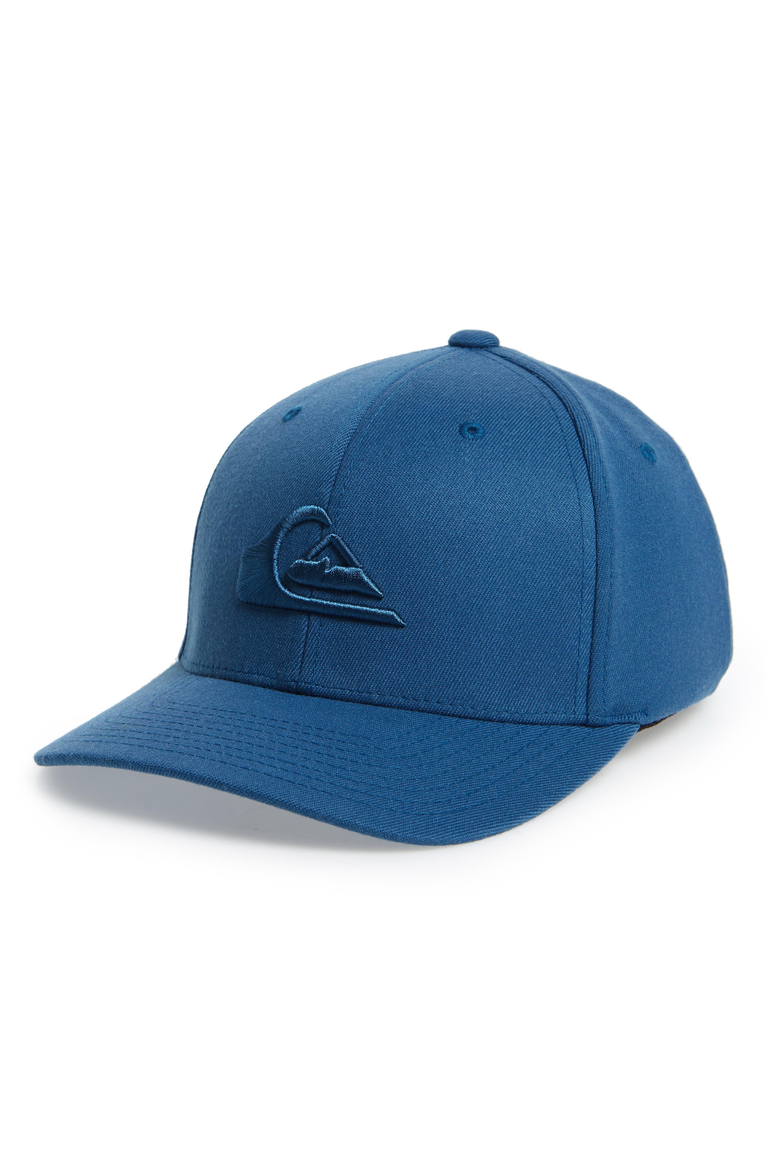 Mountain & Wave Baseball Cap,                             Main thumbnail 1, color,                             Real Teal