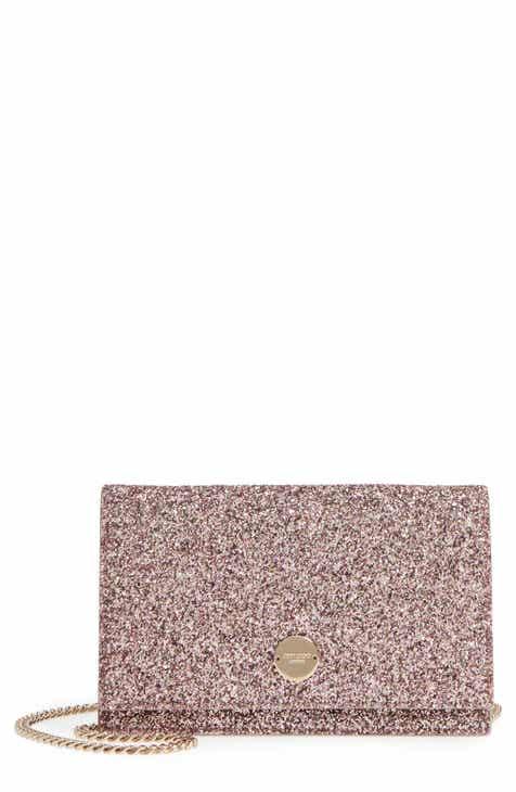Jimmy Choo Florence Glitter Crossbody Bag