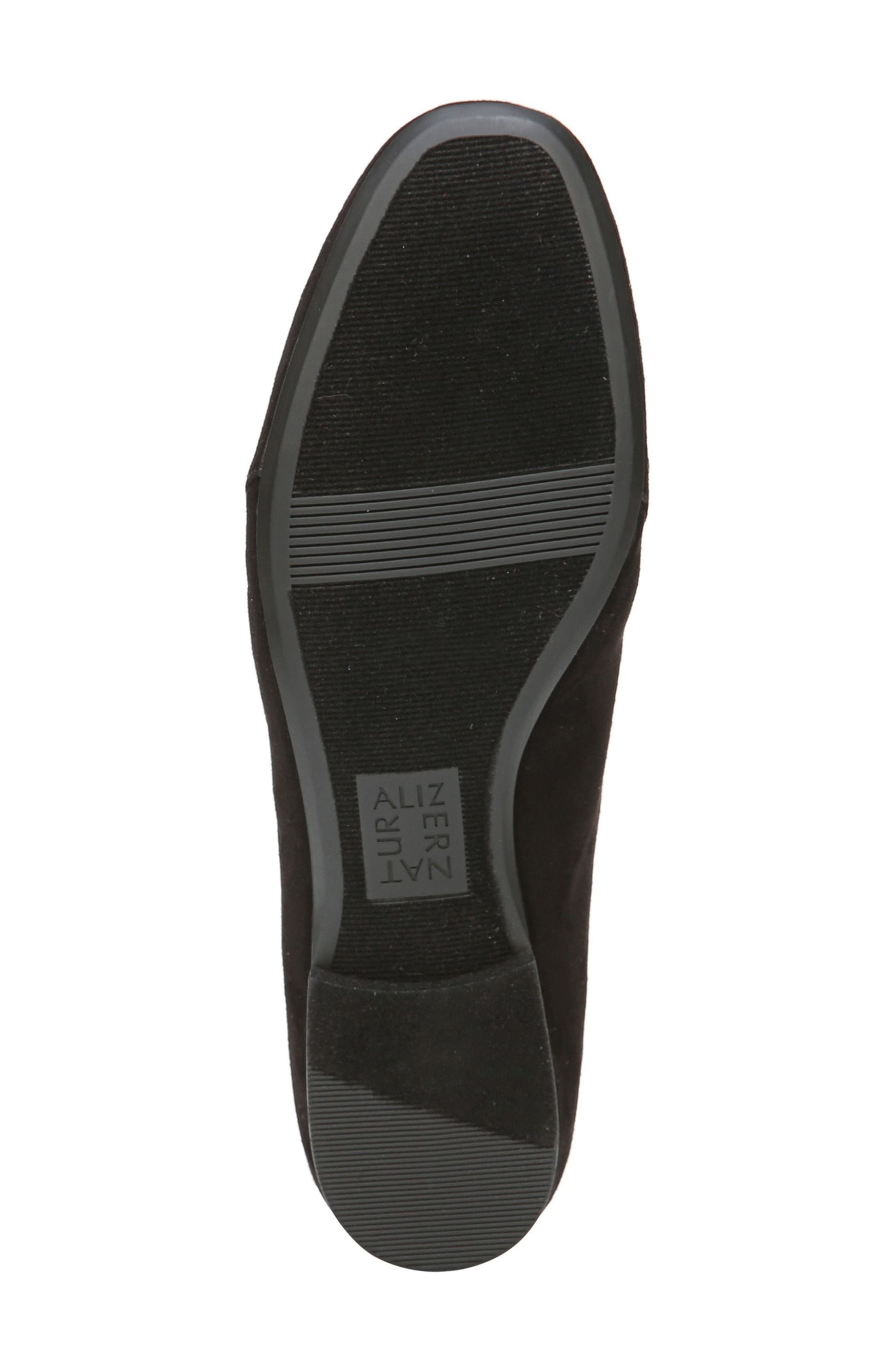 Emiline 4 Loafer,                             Alternate thumbnail 5, color,                             Black Fabric