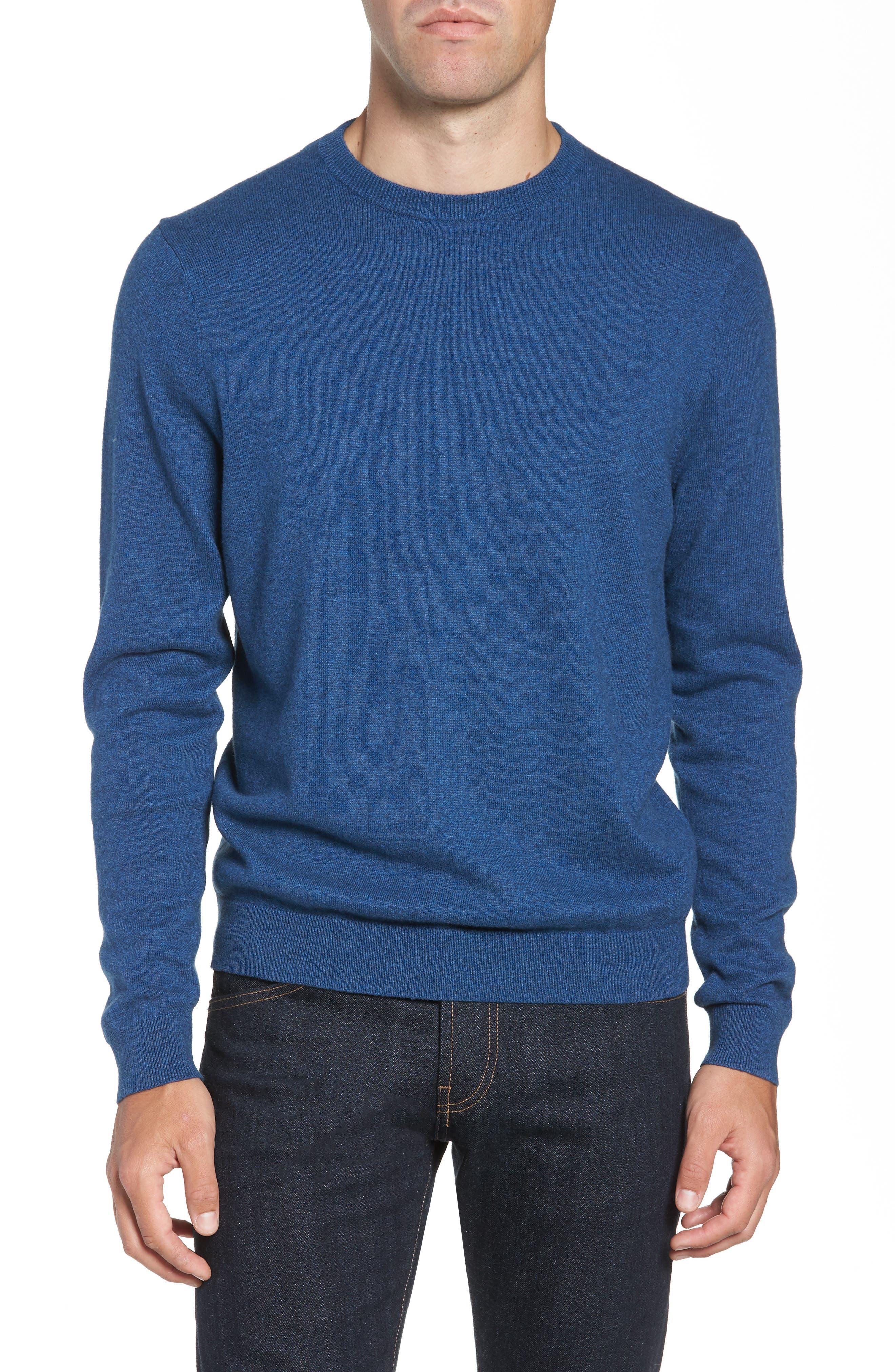 Blue Men's Sweater