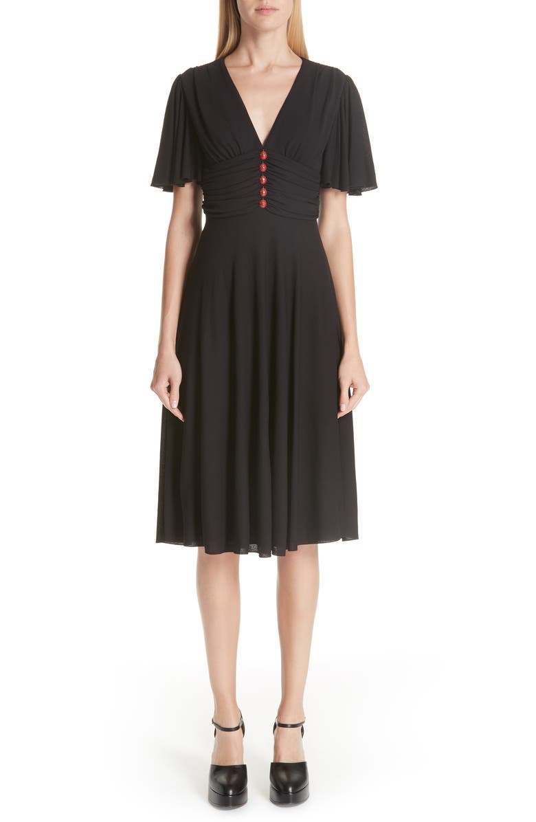 Ladybug Stretch Jersey Dress