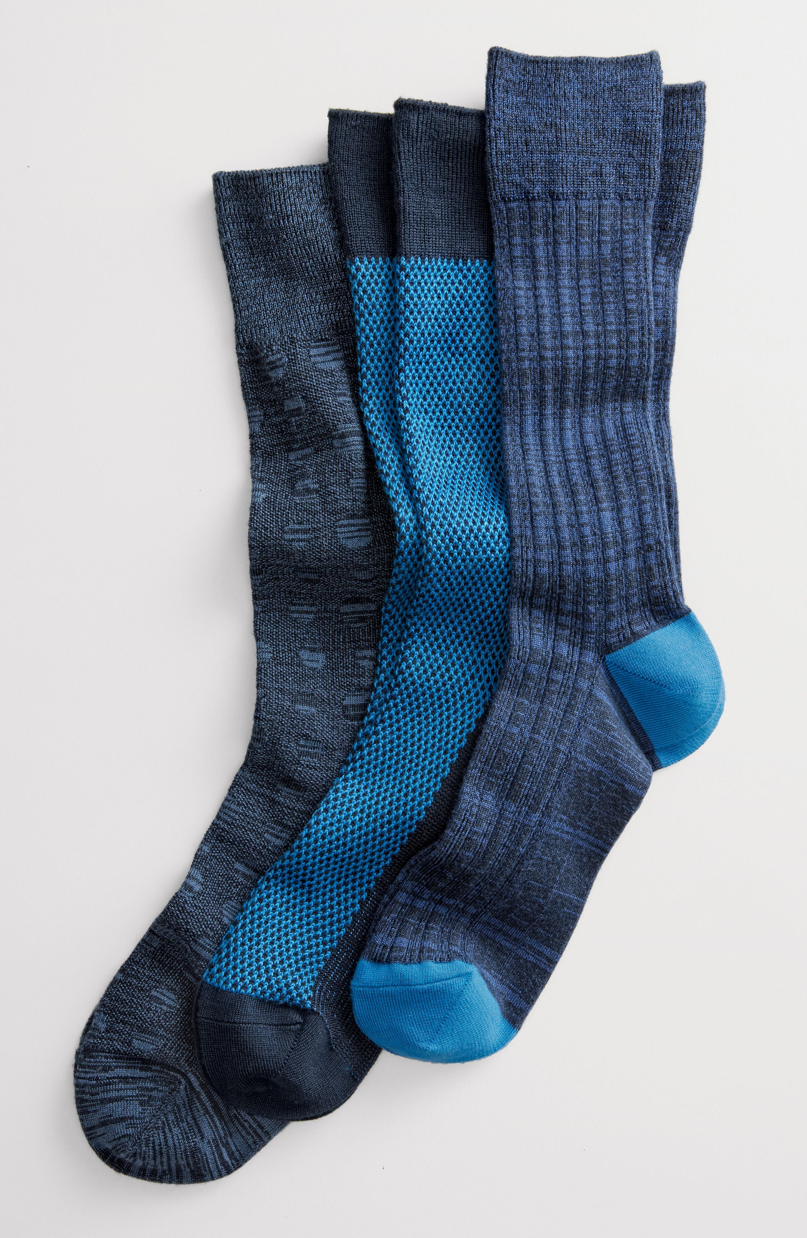 Ultra Soft Textured Socks,                             Alternate thumbnail 2, color,