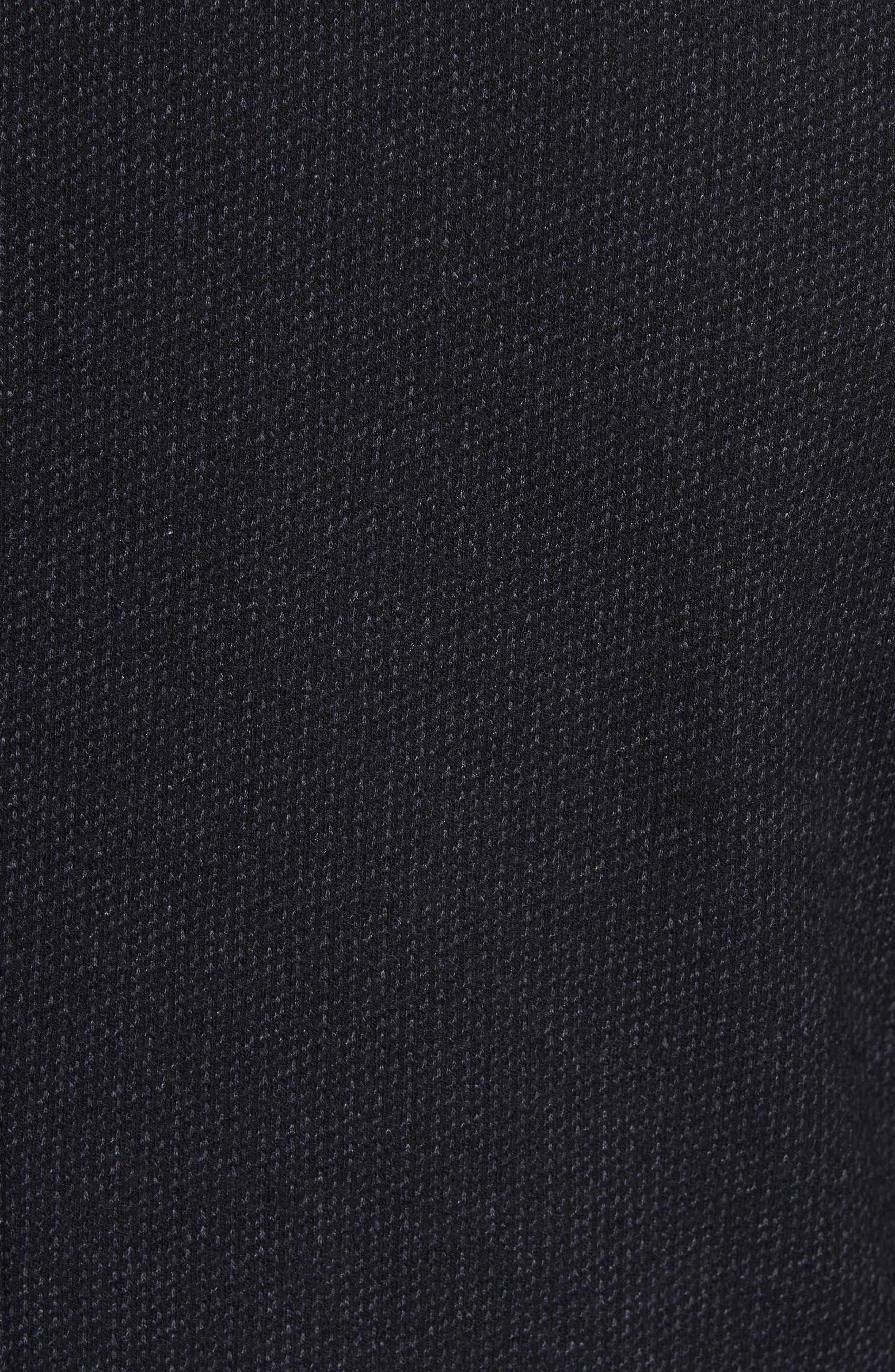 Slim Fit Wool & Cotton Blazer,                             Alternate thumbnail 3, color,                             Grey