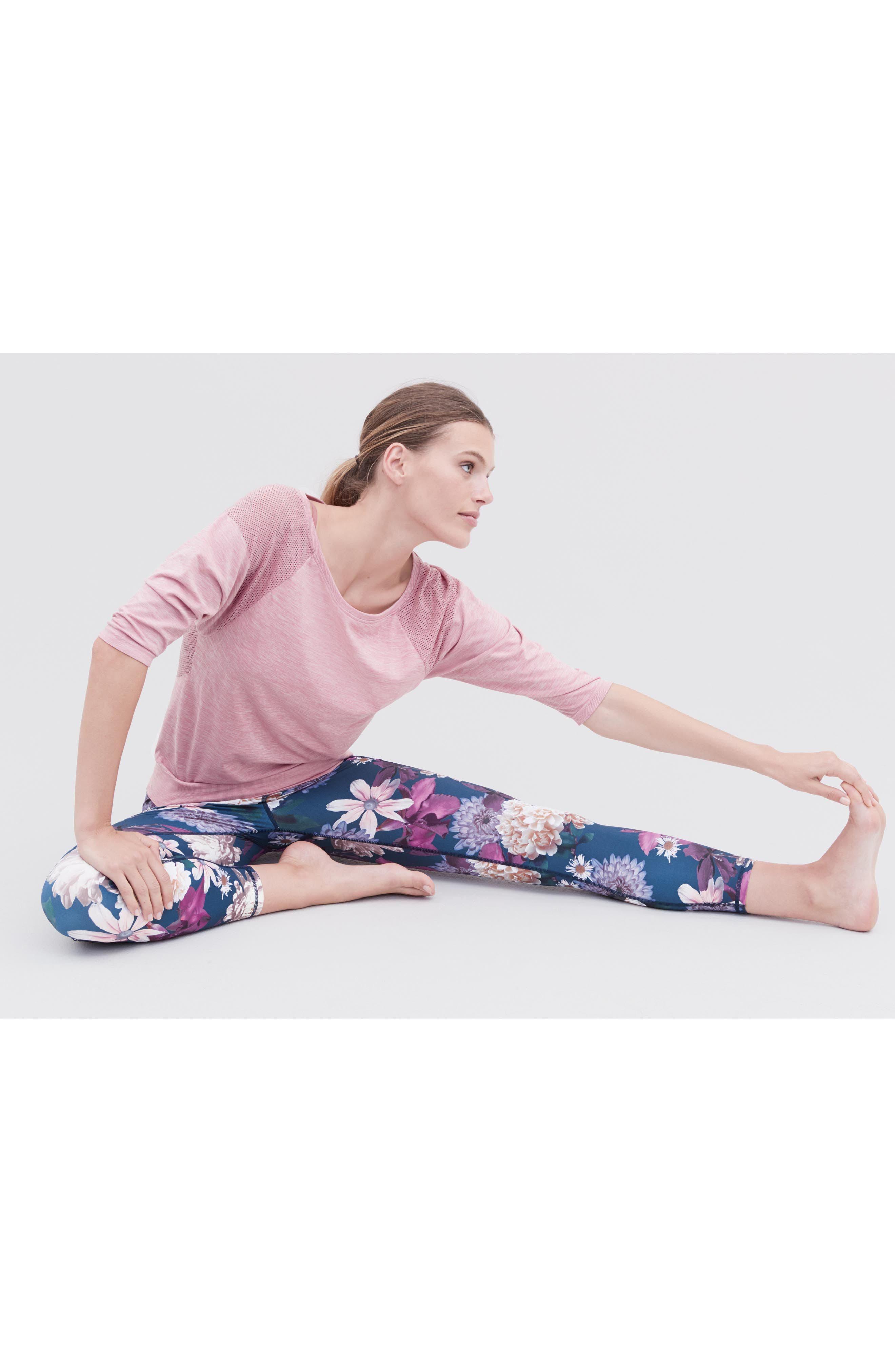 Dharana Yoga Tee,                             Alternate thumbnail 8, color,