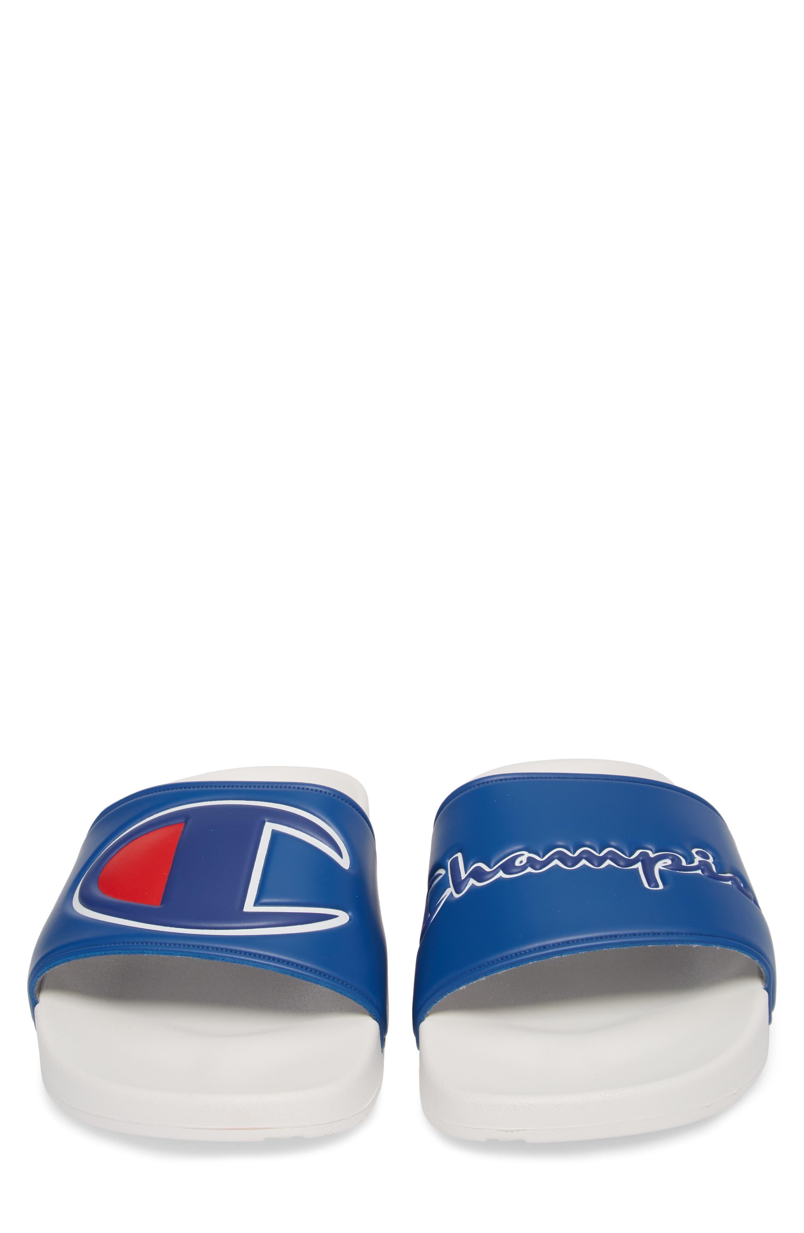 IPO Sport Slide Sandal,                             Alternate thumbnail 3, color,                             Royal