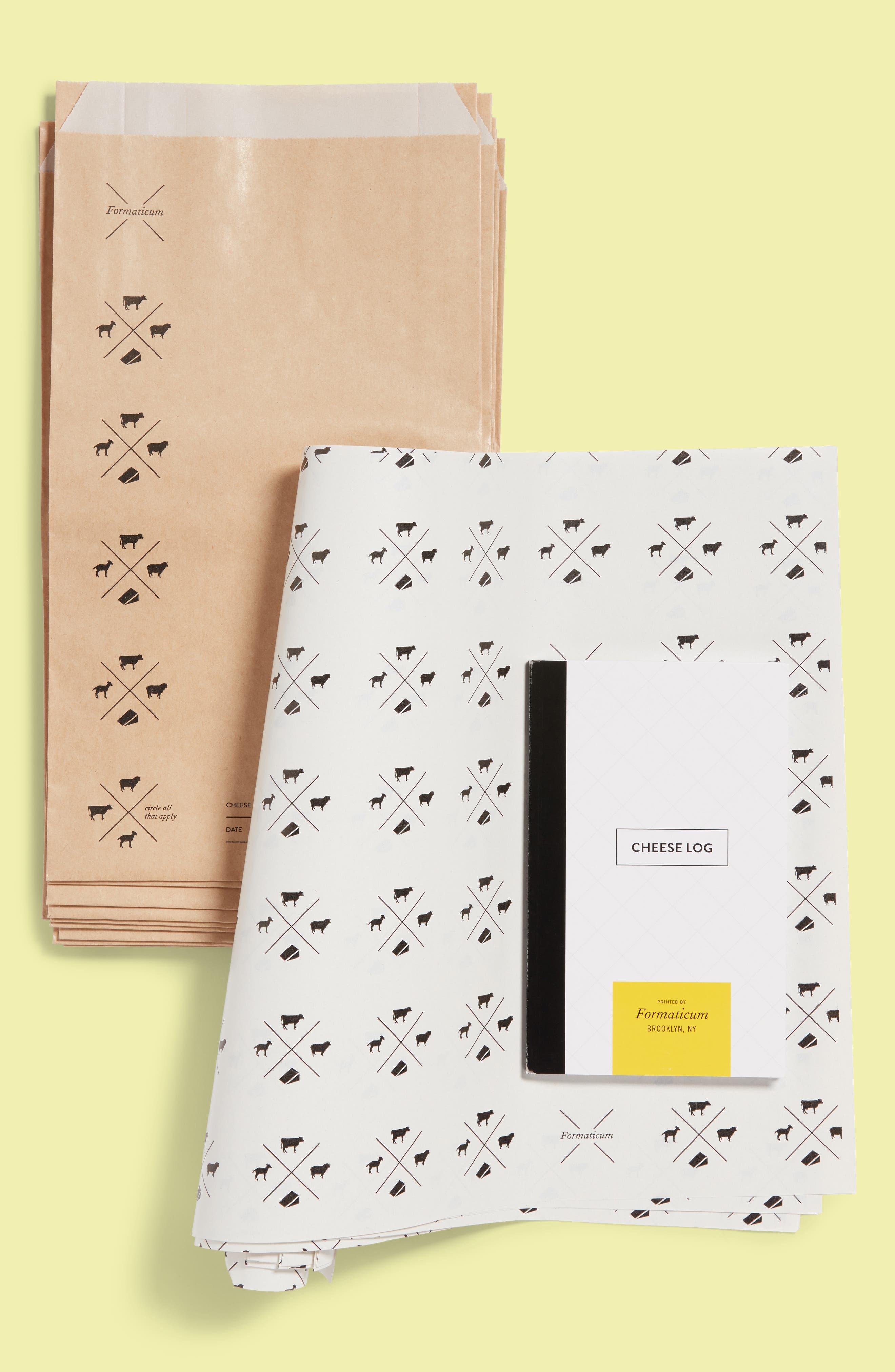 Cheese Storage Kit,                         Main,                         color, White