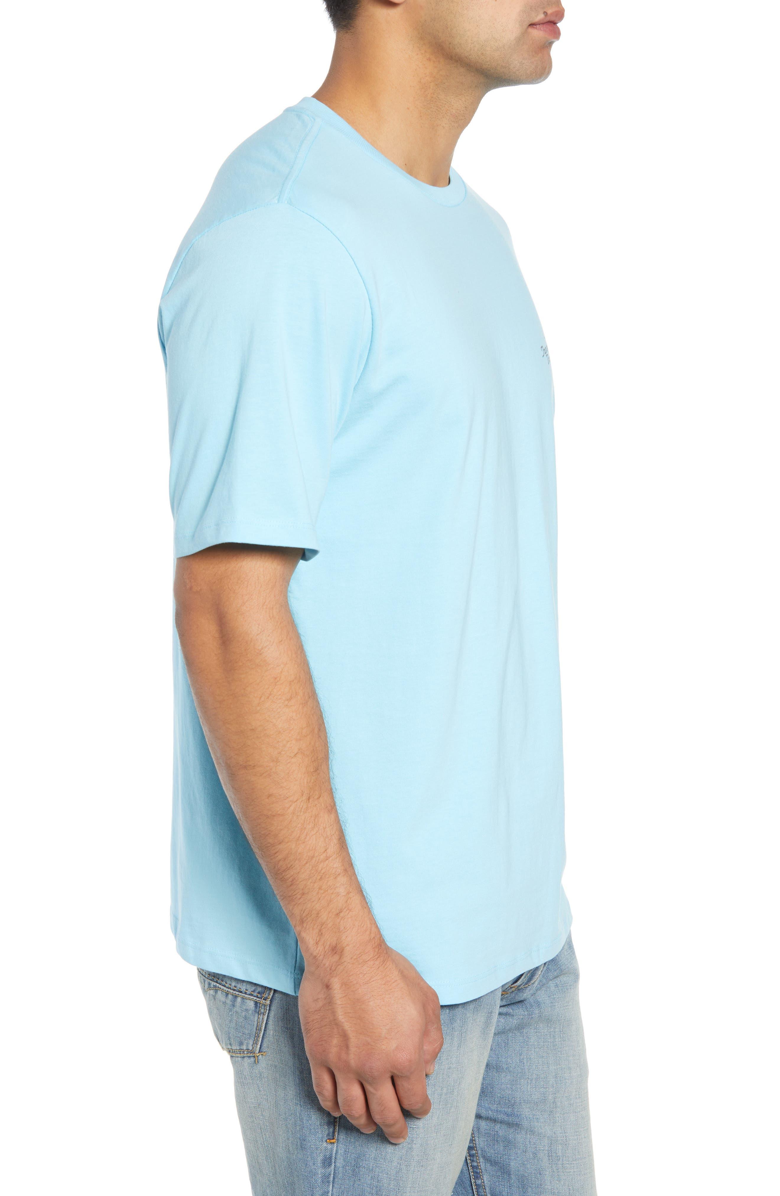 Beach Grille T-Shirt,                             Alternate thumbnail 4, color,                             Bowtie Blue