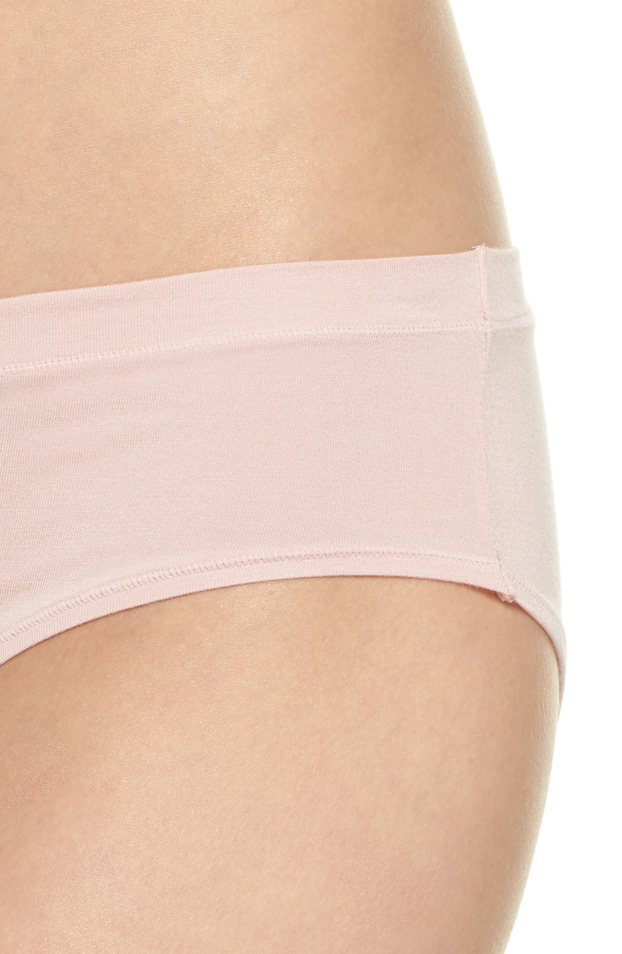 Hipster Briefs,                             Alternate thumbnail 4, color,                             Pink Silver