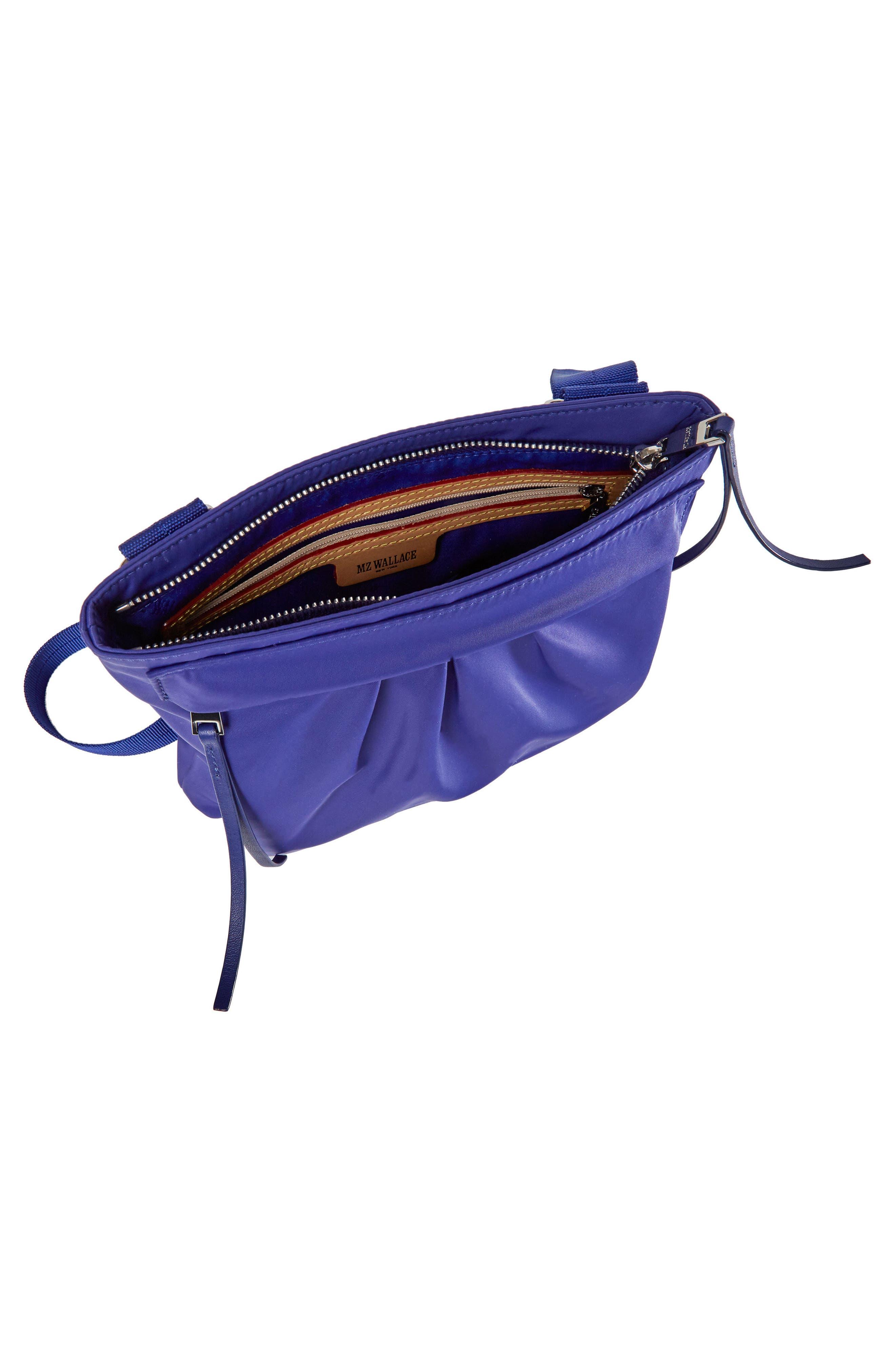 Jordan Bedford Nylon Crossbody Bag,                             Alternate thumbnail 3, color,                             Spectrum Blue