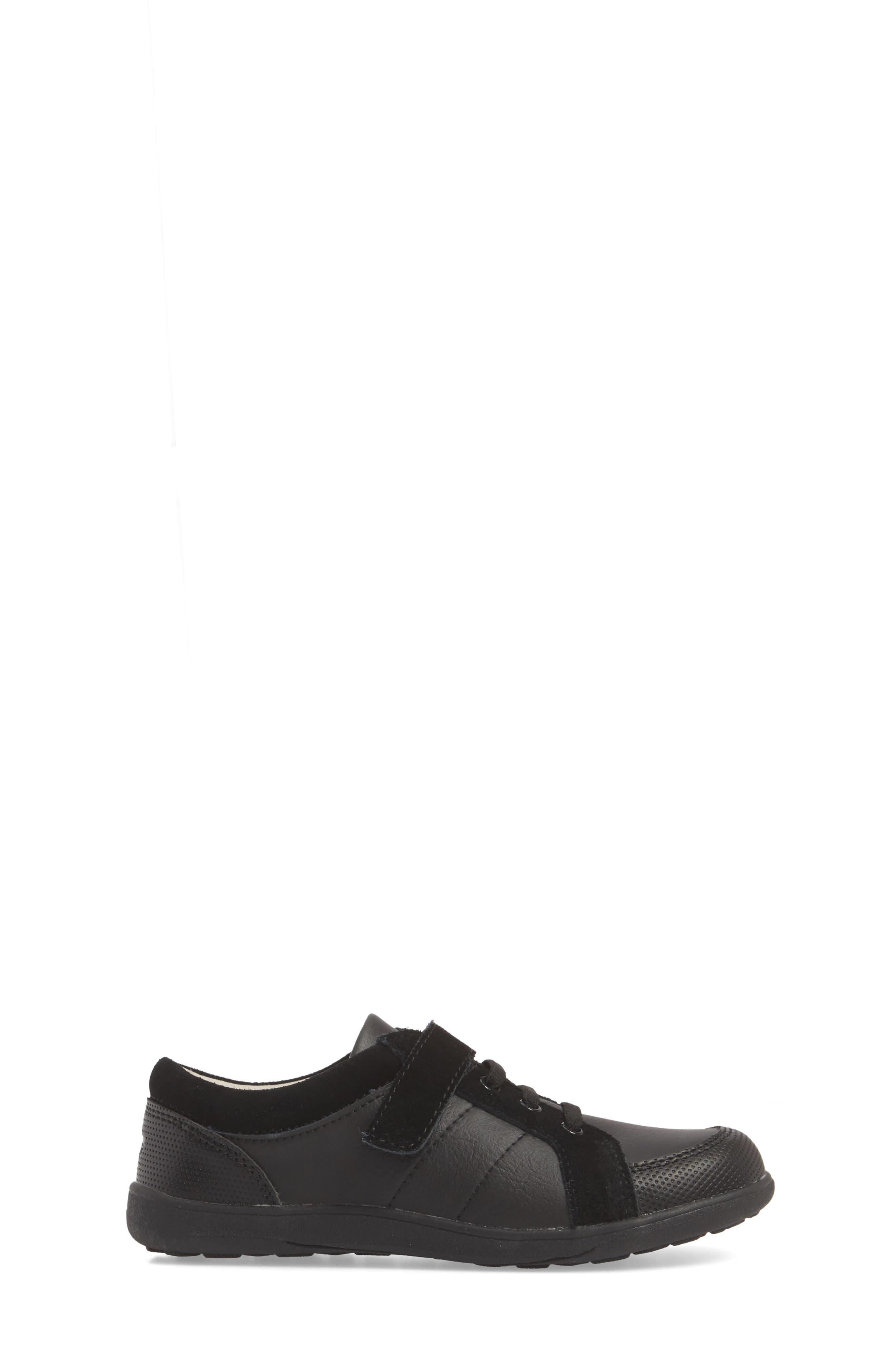 Randal III Sneaker,                             Alternate thumbnail 4, color,                             Black