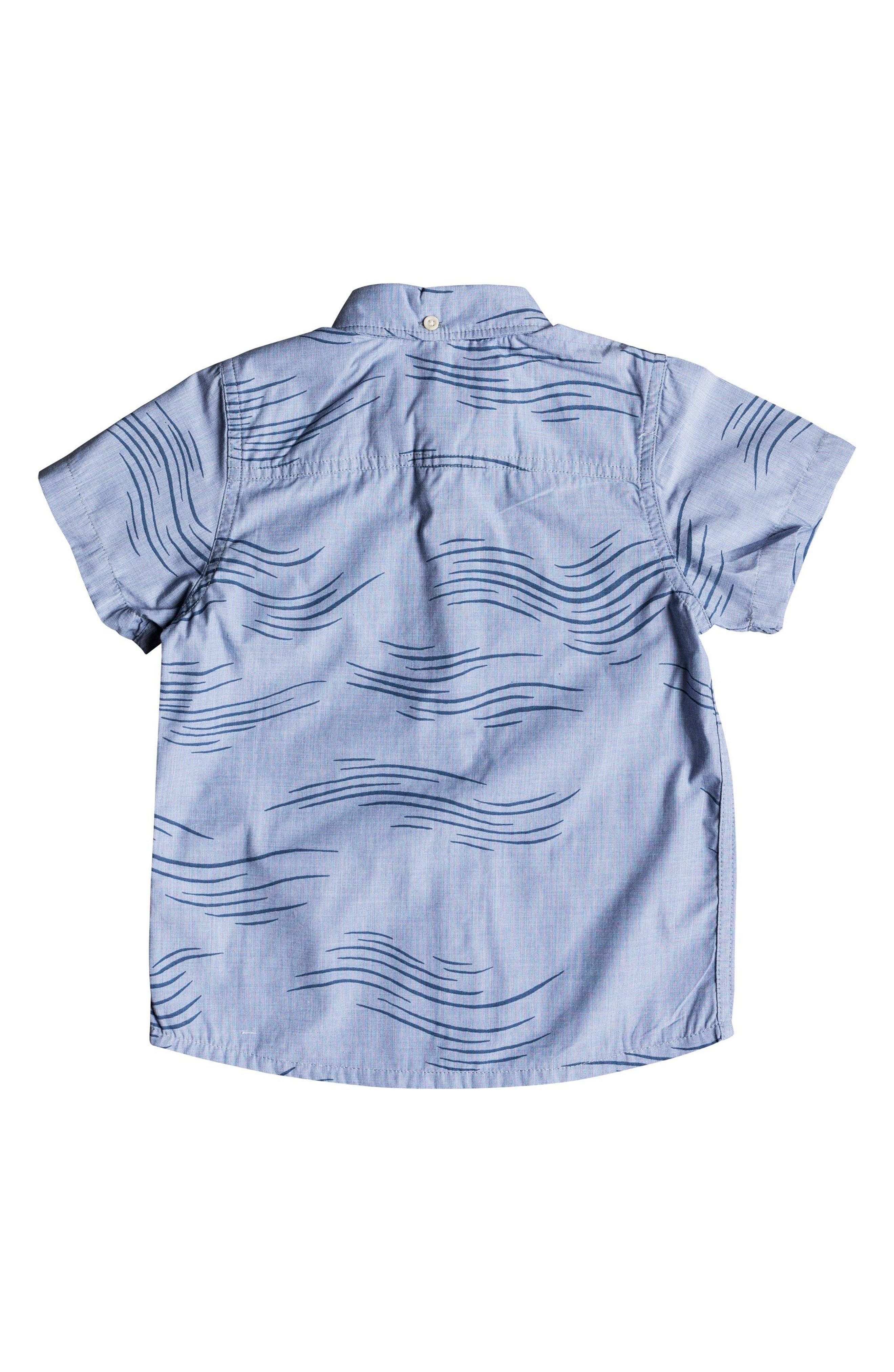 Valley Groove Woven Shirt,                             Alternate thumbnail 2, color,                             Bijou Blue