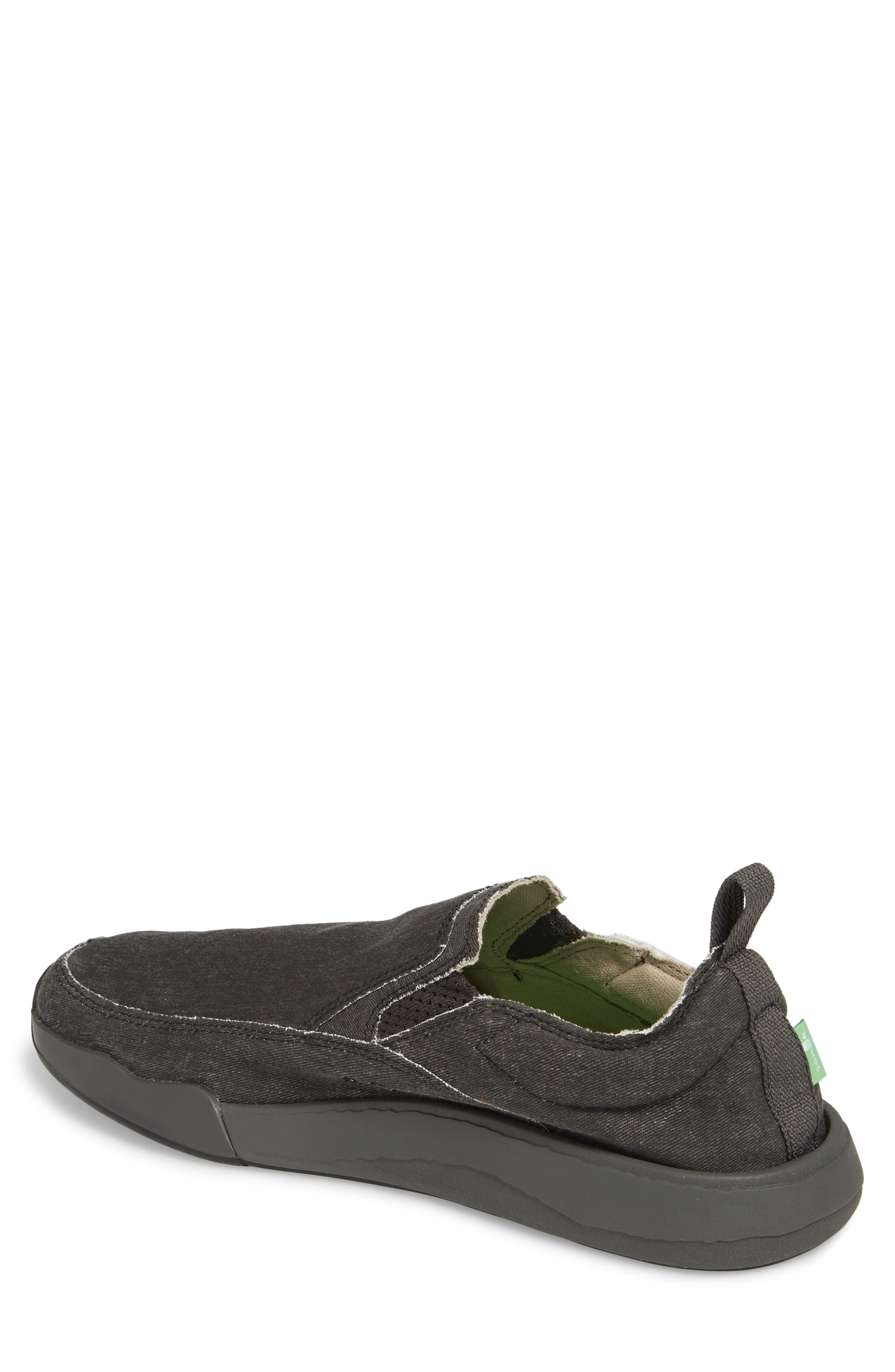 Chiba Quest Slip-On Sneaker,                             Alternate thumbnail 2, color,                             Black/ Black