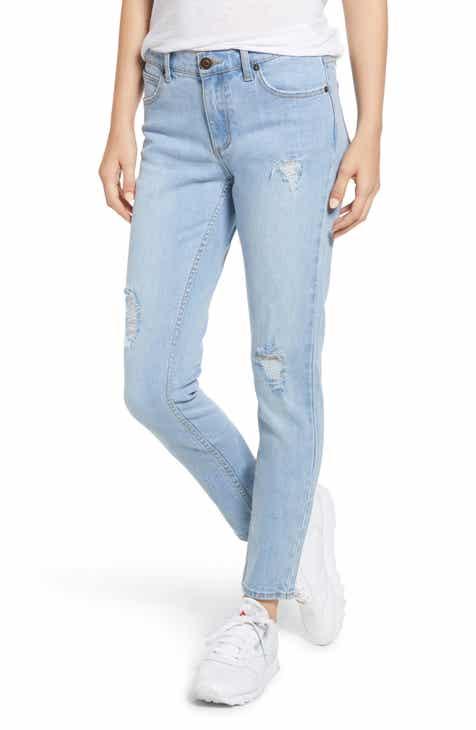 f4ff536a31ce Lira Clothing Nova Ripped Straight Leg Jeans (Vintage Blue)