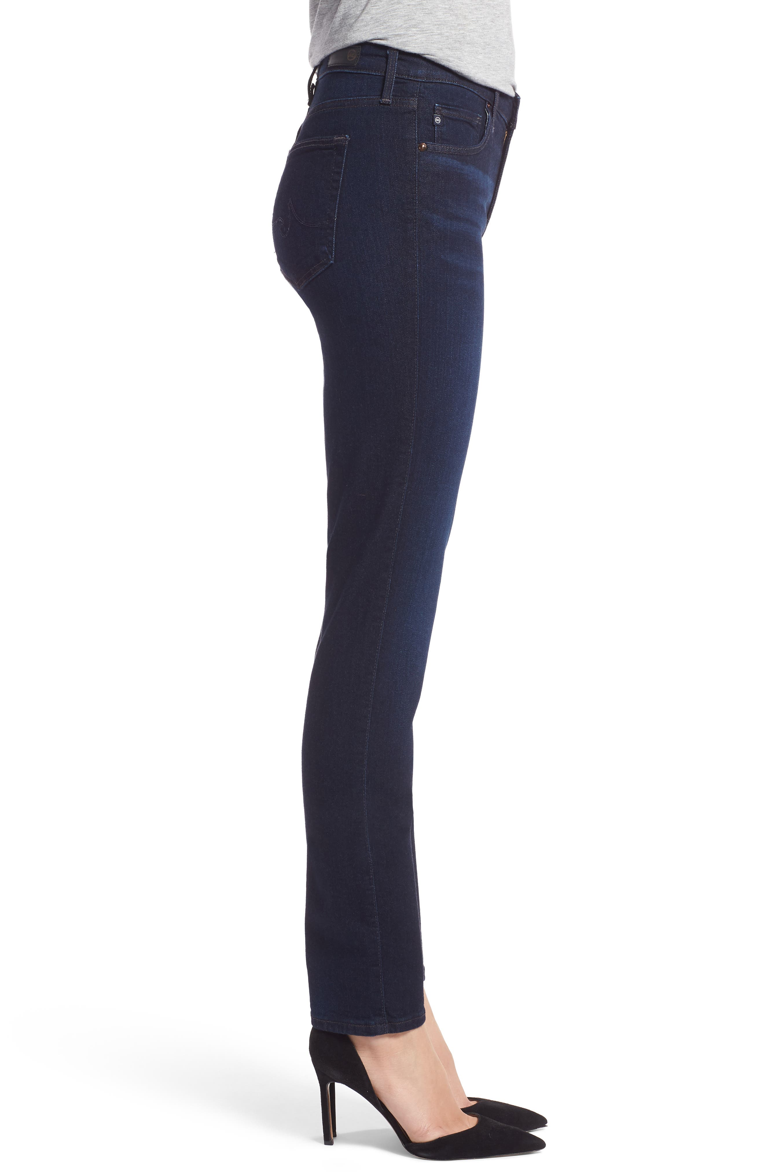 'Prima' Mid Rise Skinny Jeans,                             Alternate thumbnail 4, color,                             Glamour