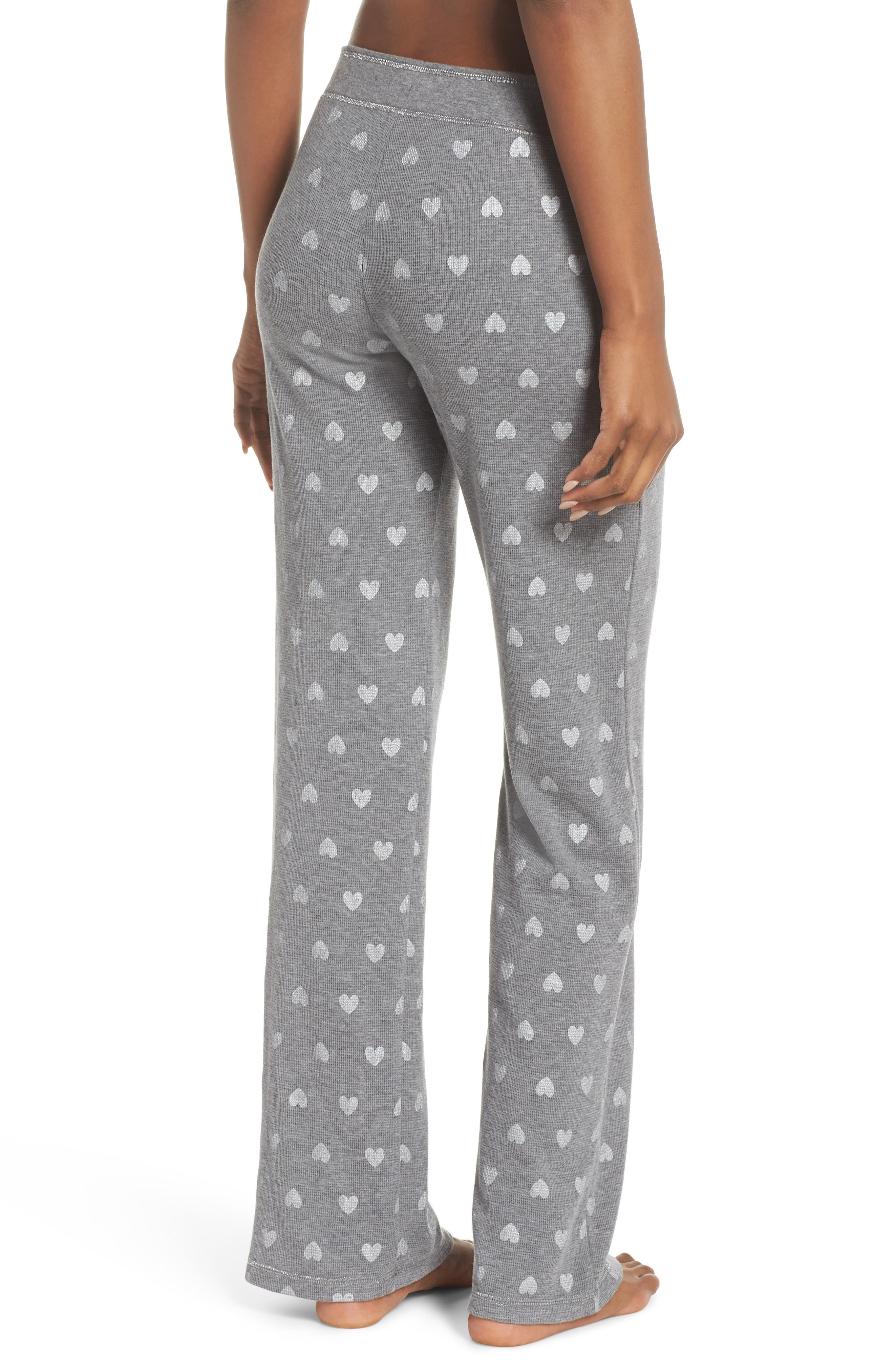 Wild Heart Thermal Lounge Pants,                             Alternate thumbnail 2, color,                             H Grey